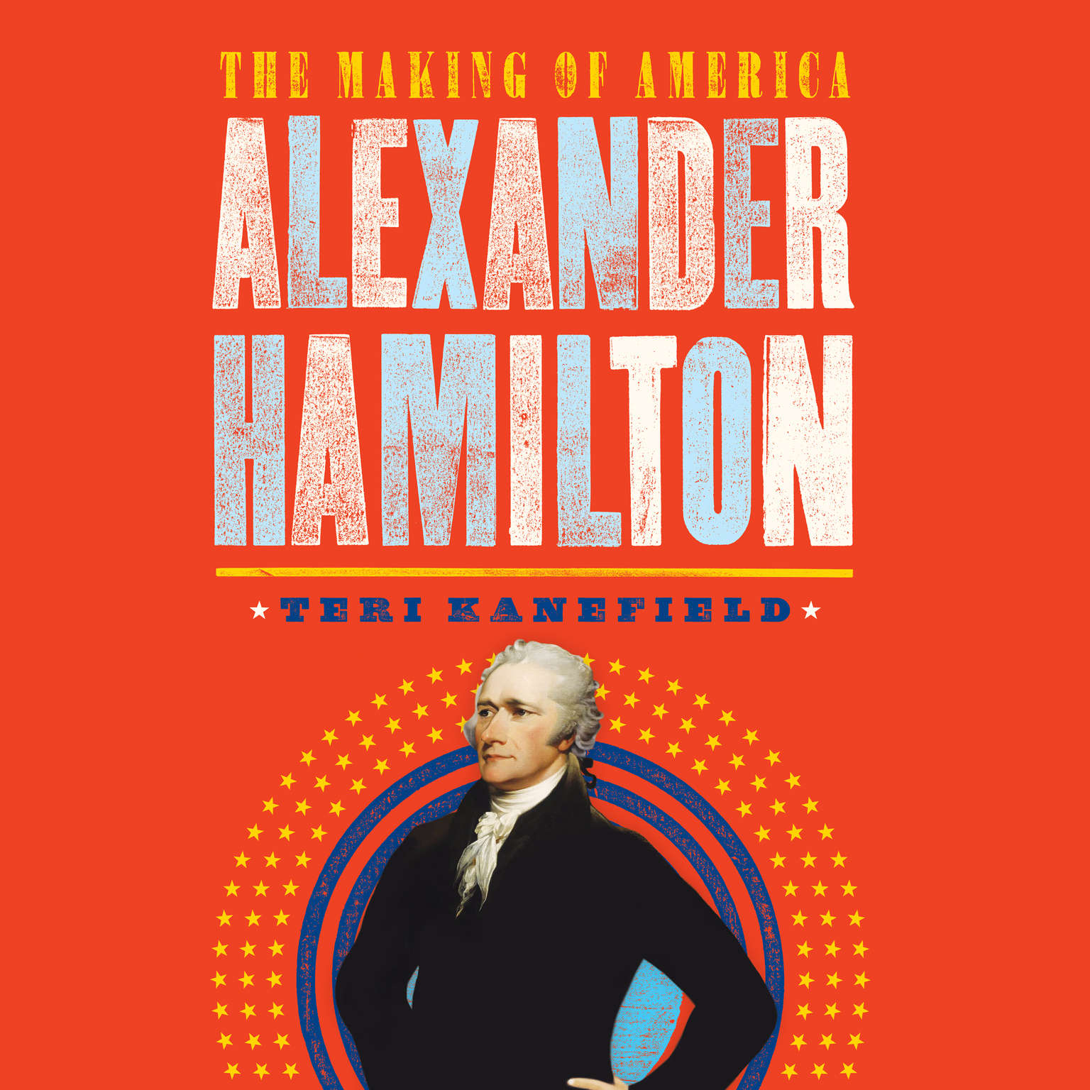 Printable Alexander Hamilton: The Making of America Audiobook Cover Art