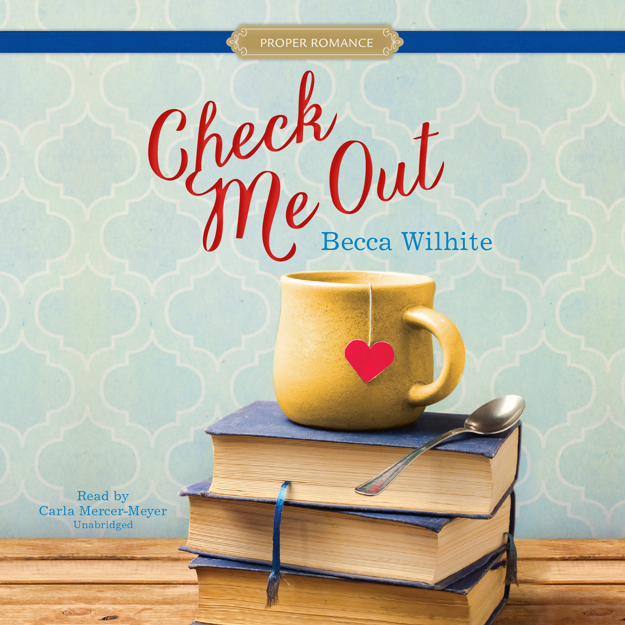 Printable Check Me Out Audiobook Cover Art