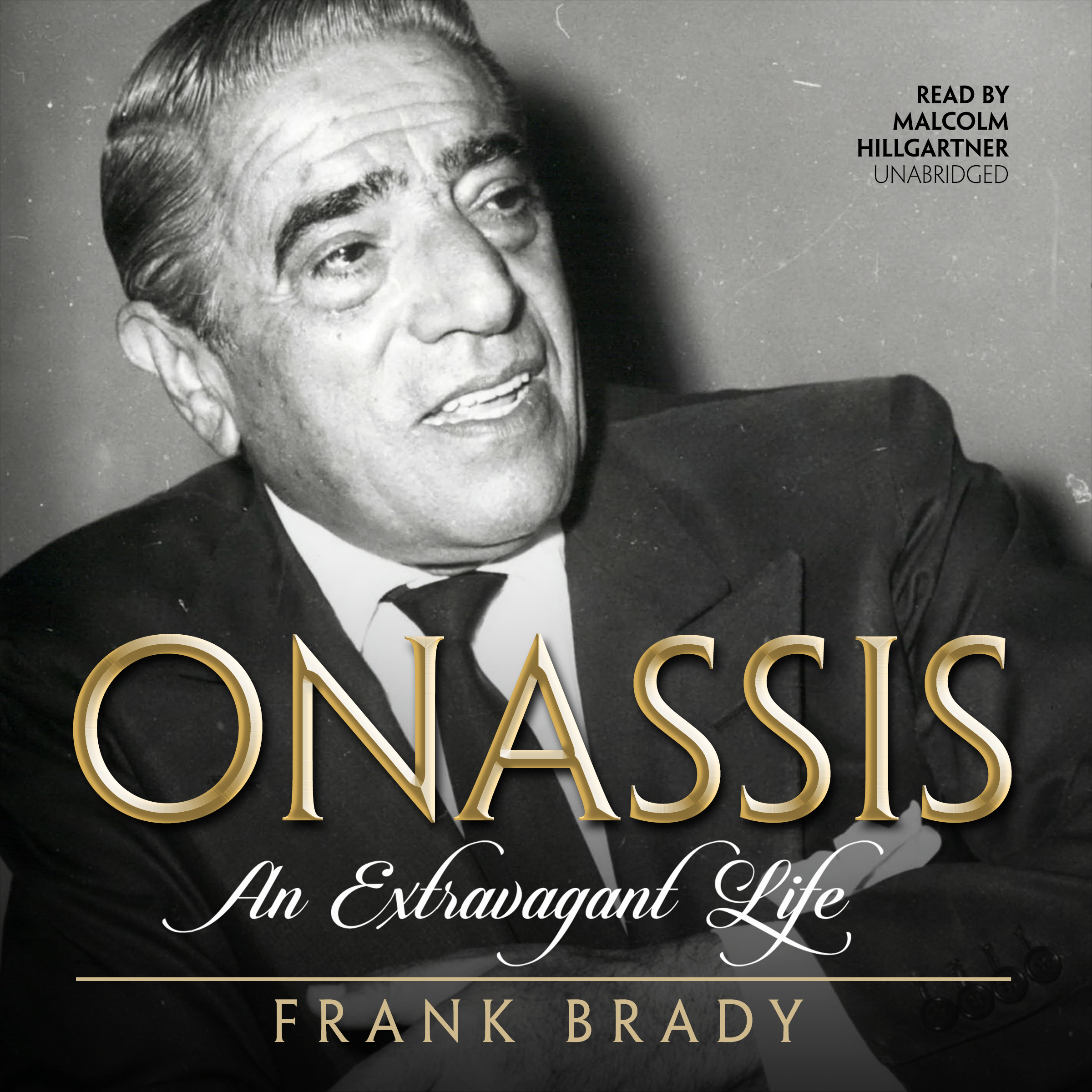 Printable Onassis: An Extravagant Life Audiobook Cover Art