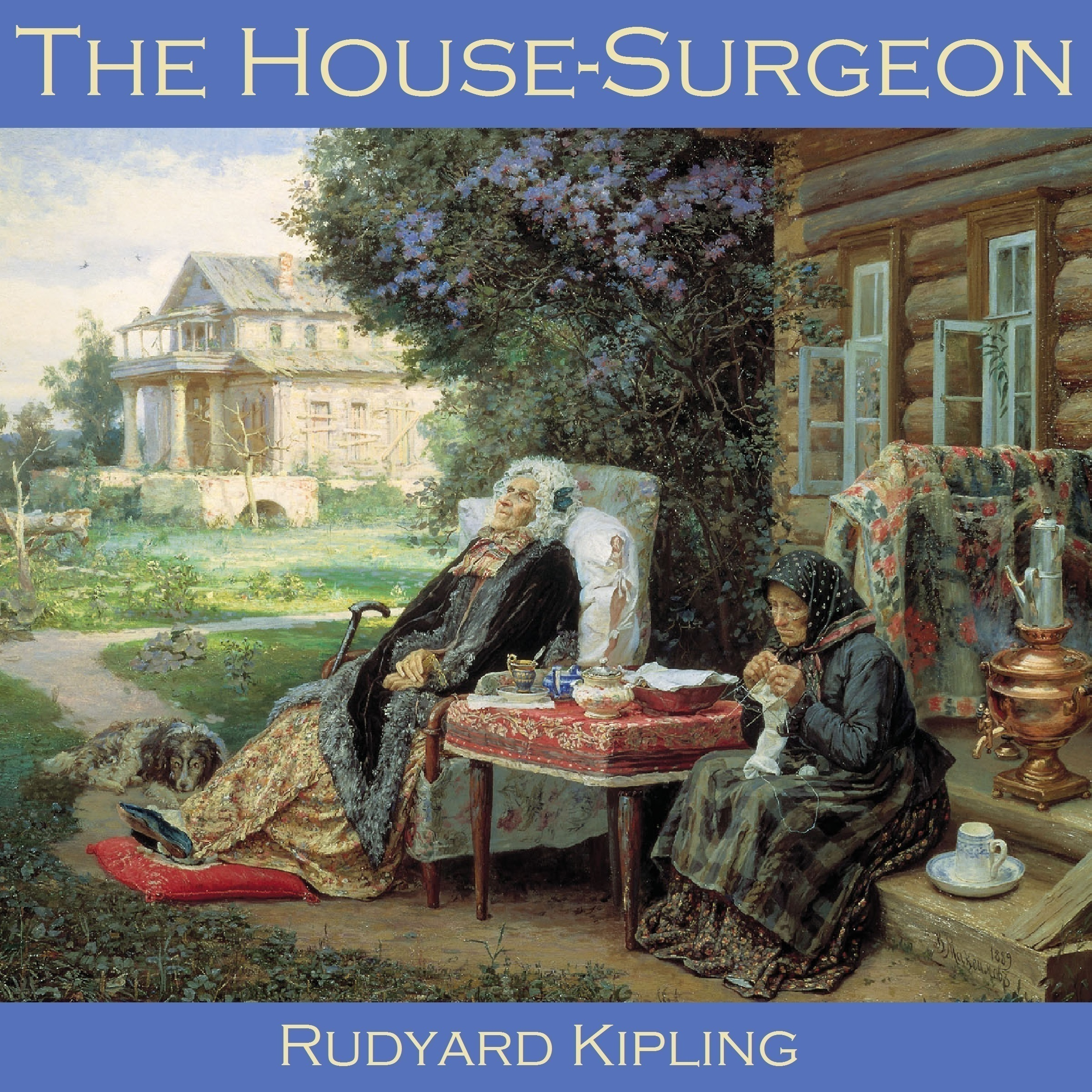 Printable The House Surgeon Audiobook Cover Art