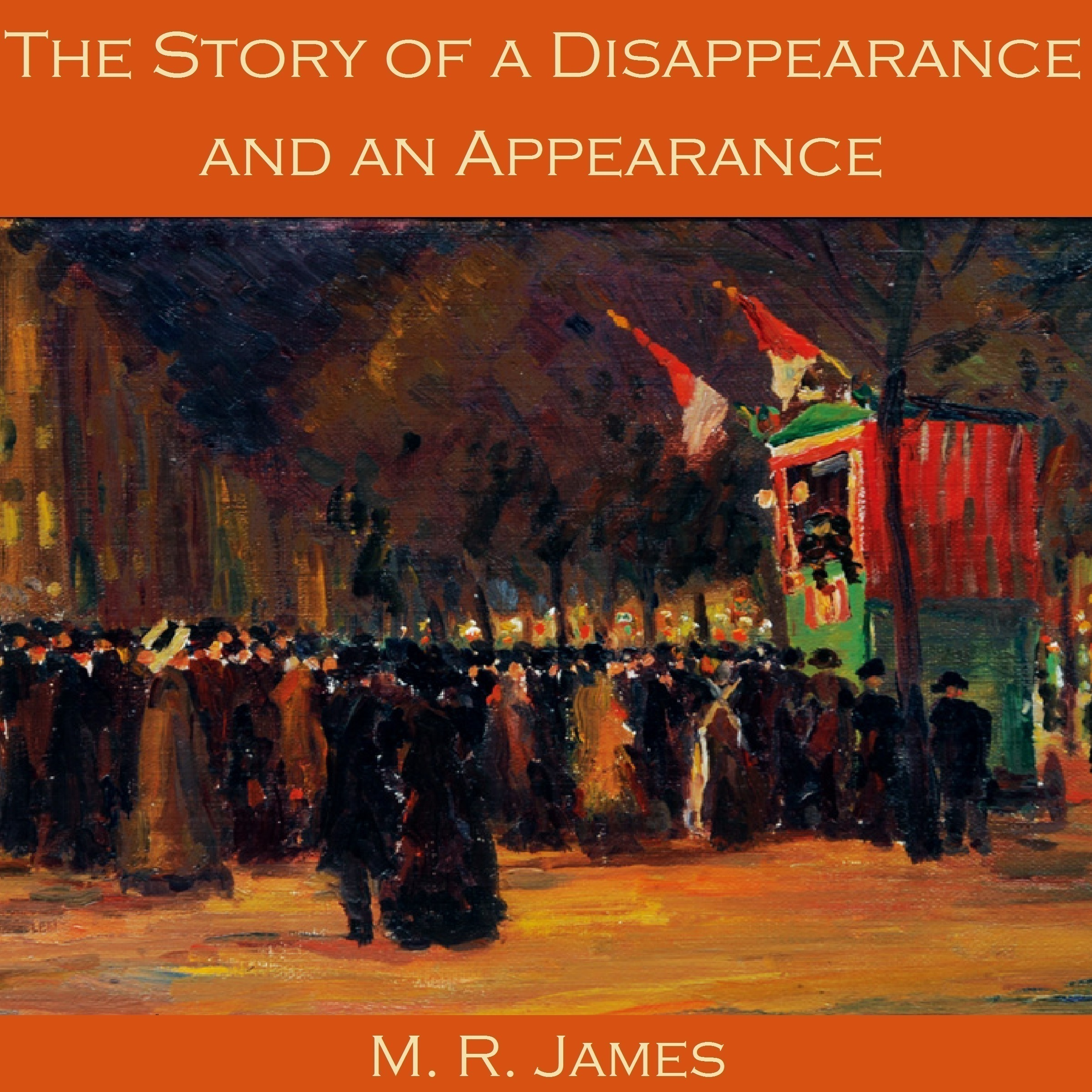 Printable The Story of a Disappearance and an Appearance Audiobook Cover Art