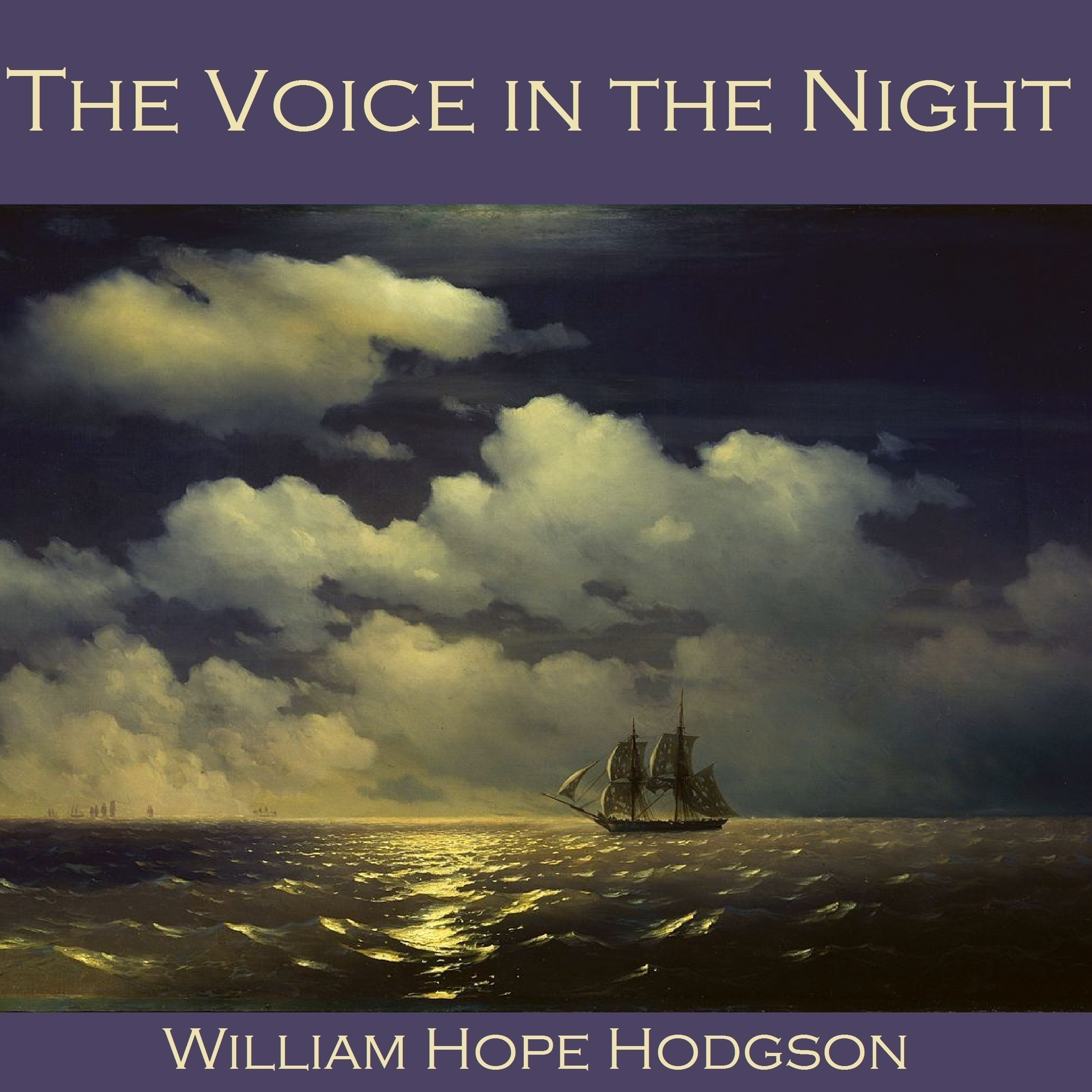 Printable The Voice in the Night Audiobook Cover Art