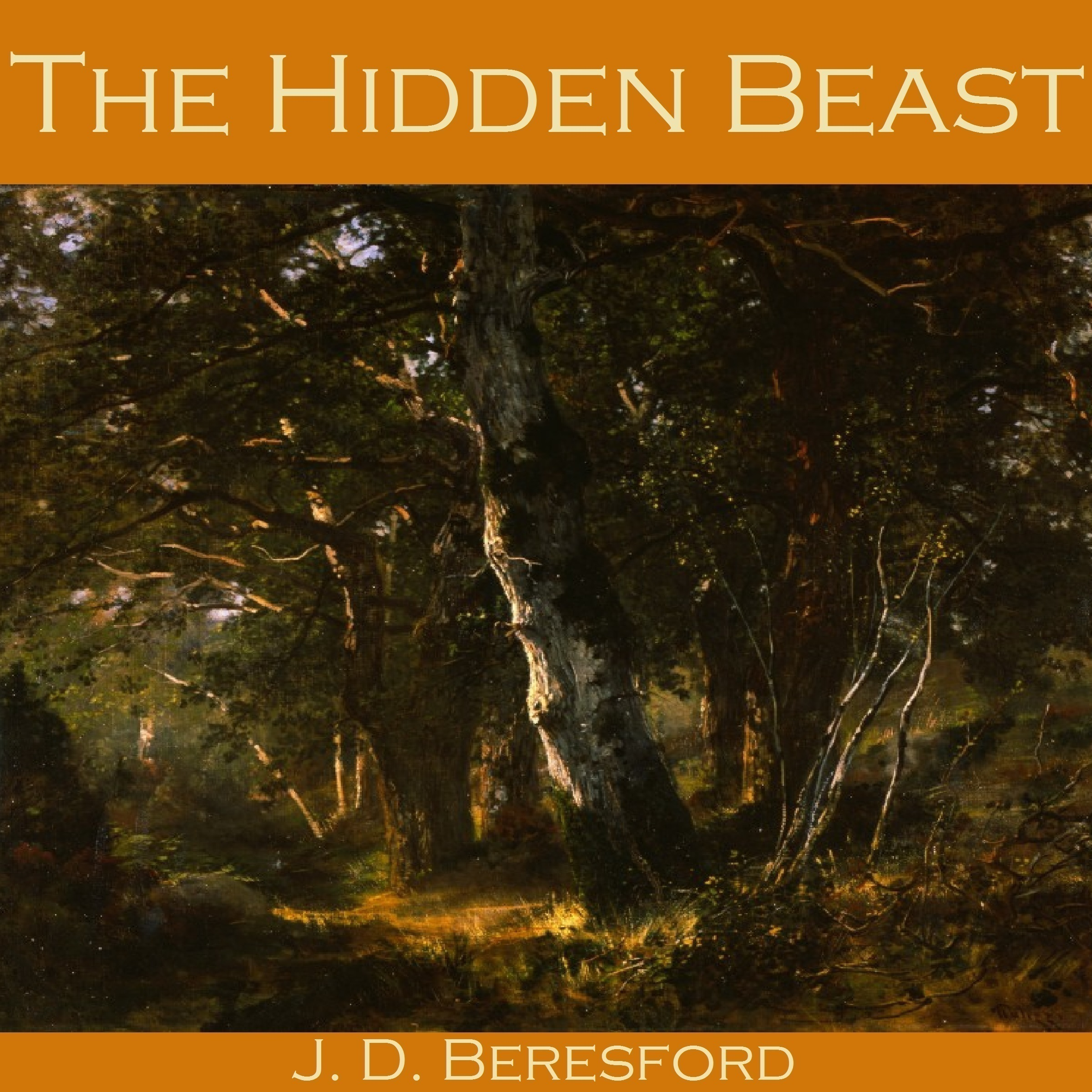 Printable The Hidden Beast Audiobook Cover Art
