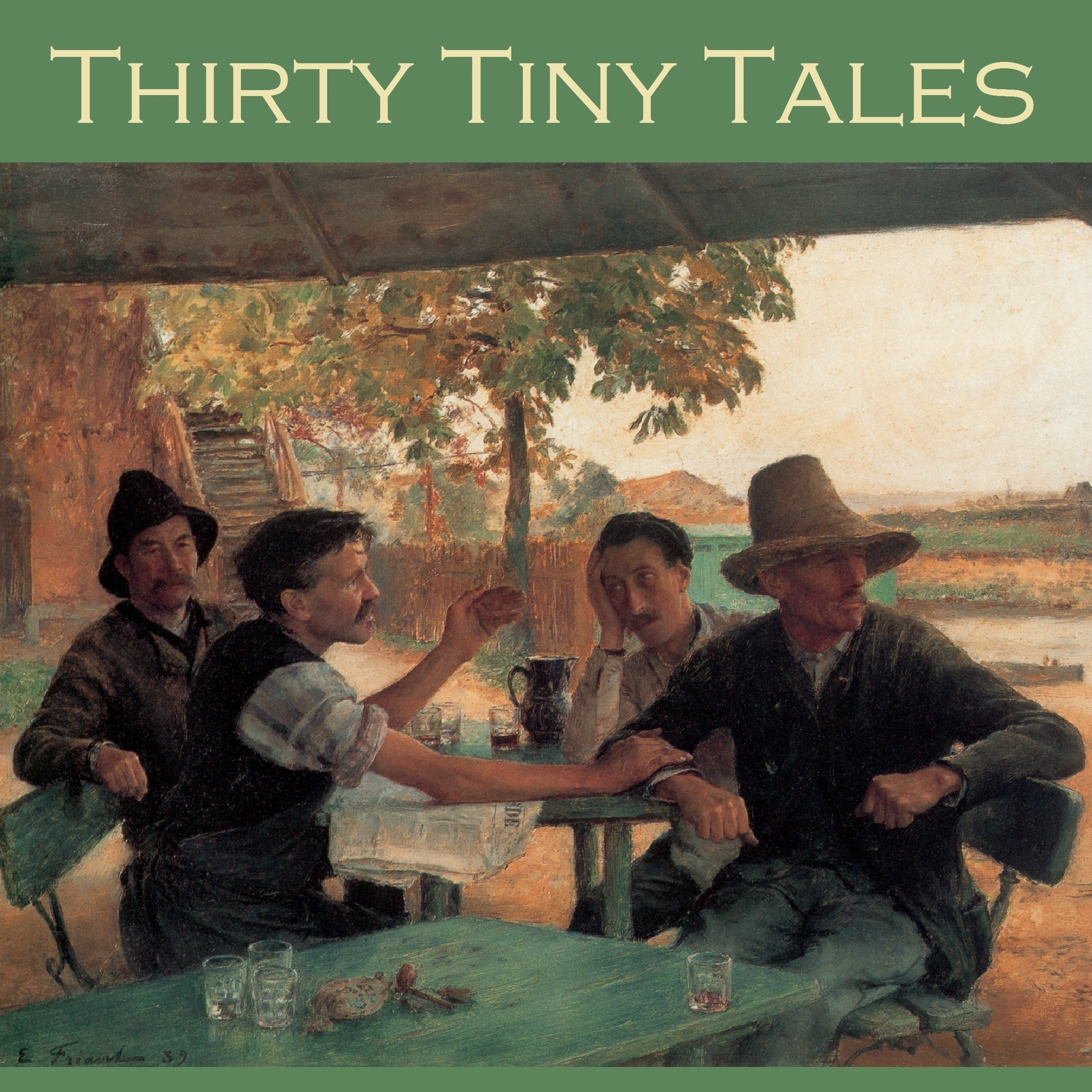 Printable Thirty Tiny Tales Audiobook Cover Art