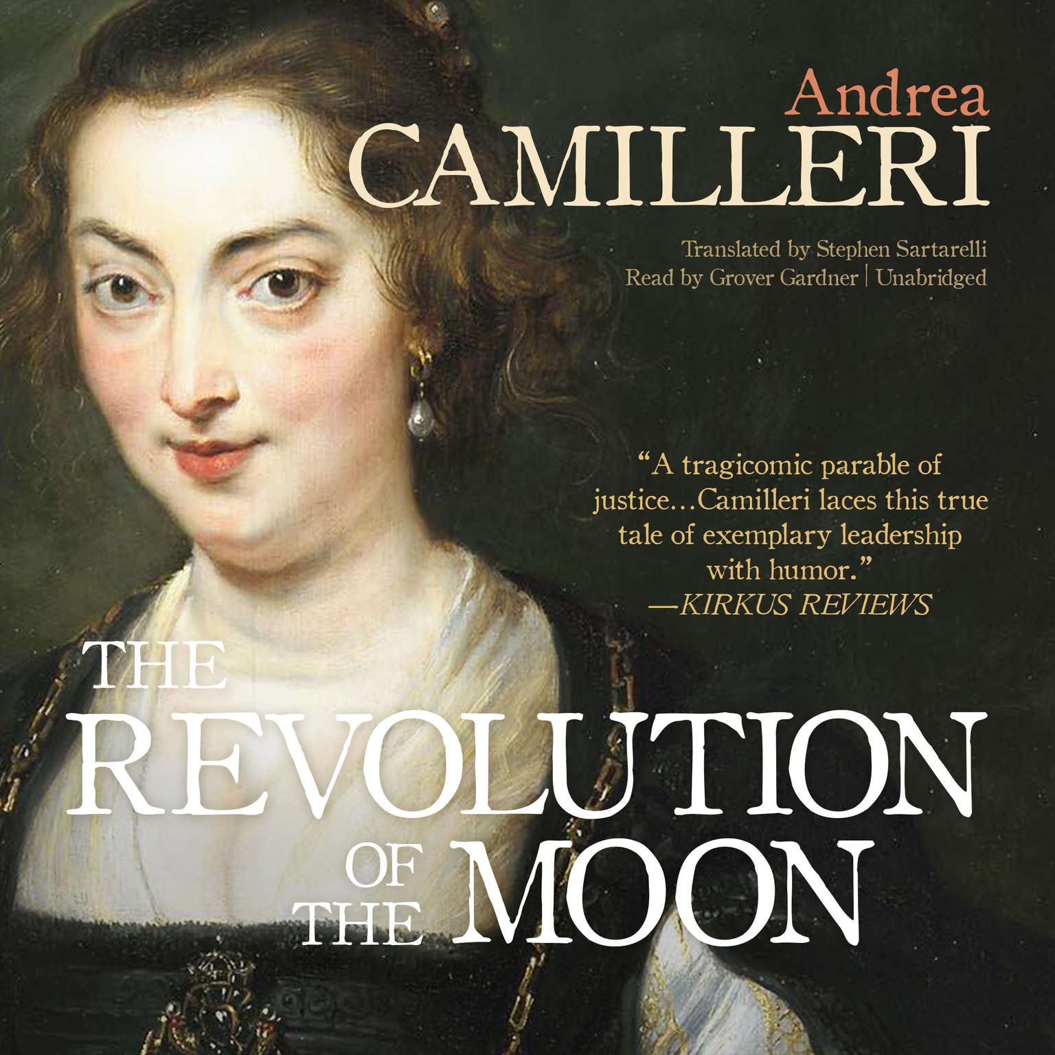 Printable The Revolution of the Moon Audiobook Cover Art