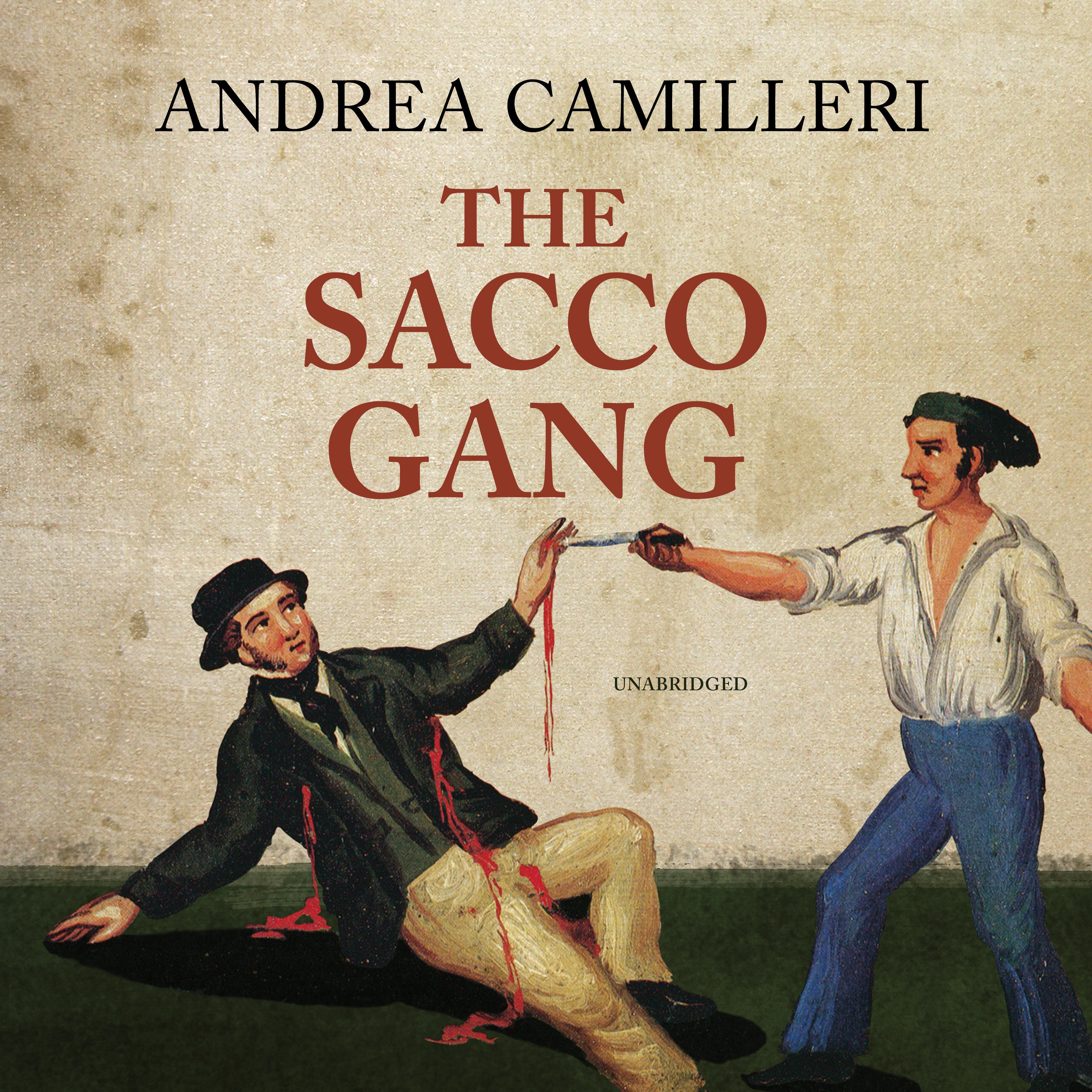 Printable The Sacco Gang Audiobook Cover Art