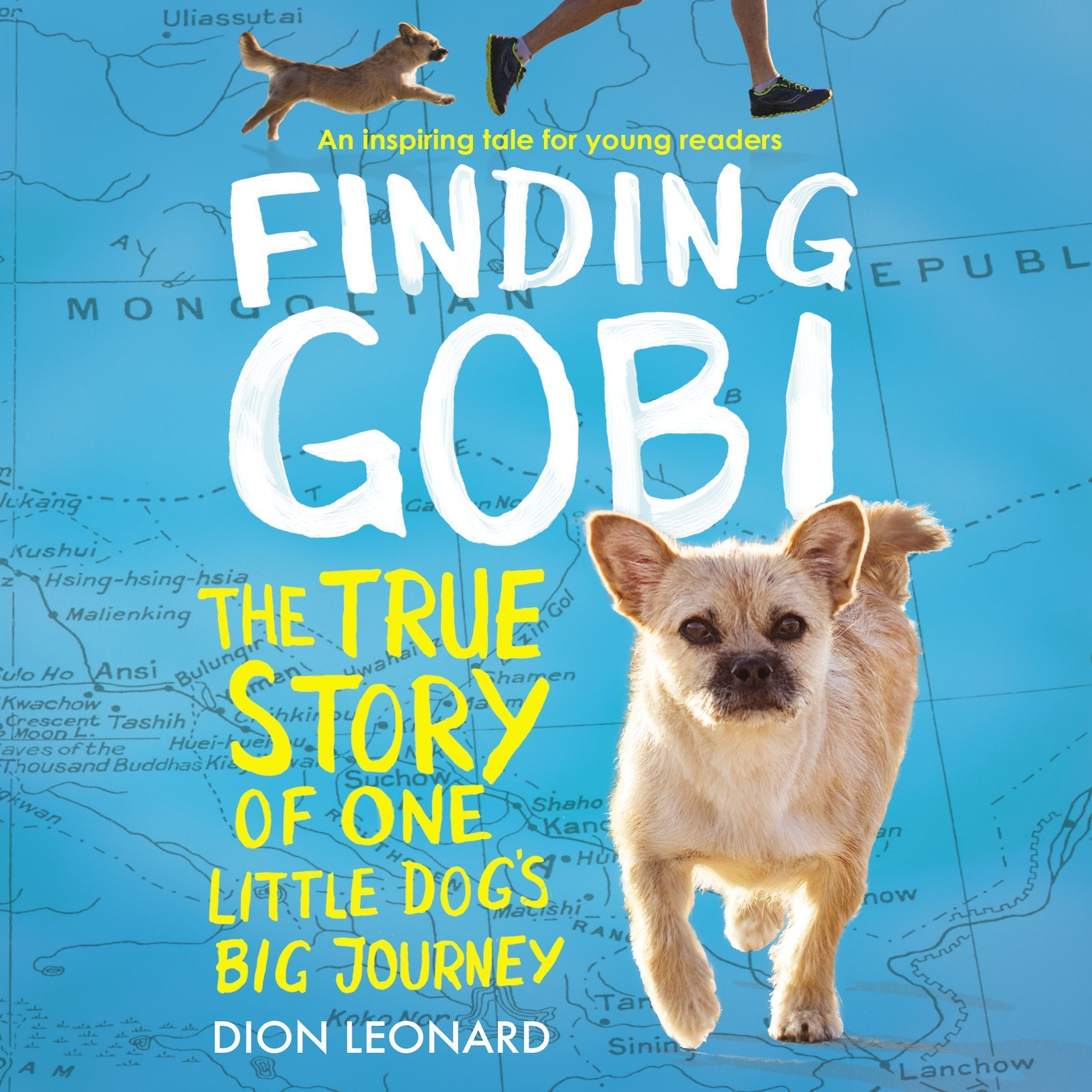 Printable Finding Gobi: Young Reader's Edition: The True Story of One Little Dog's Big Journey Audiobook Cover Art