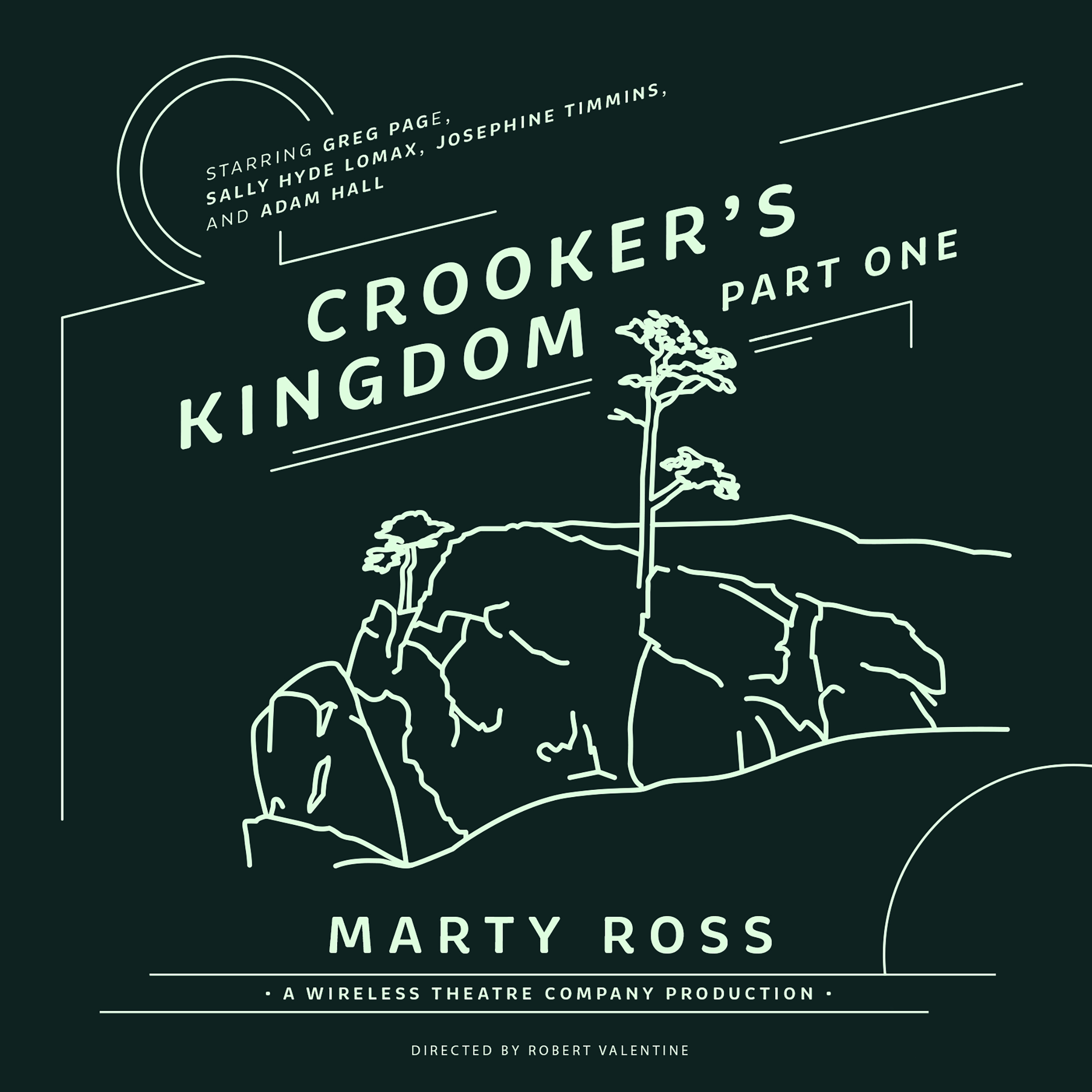 Printable Crooker's Kingdom, Part One Audiobook Cover Art