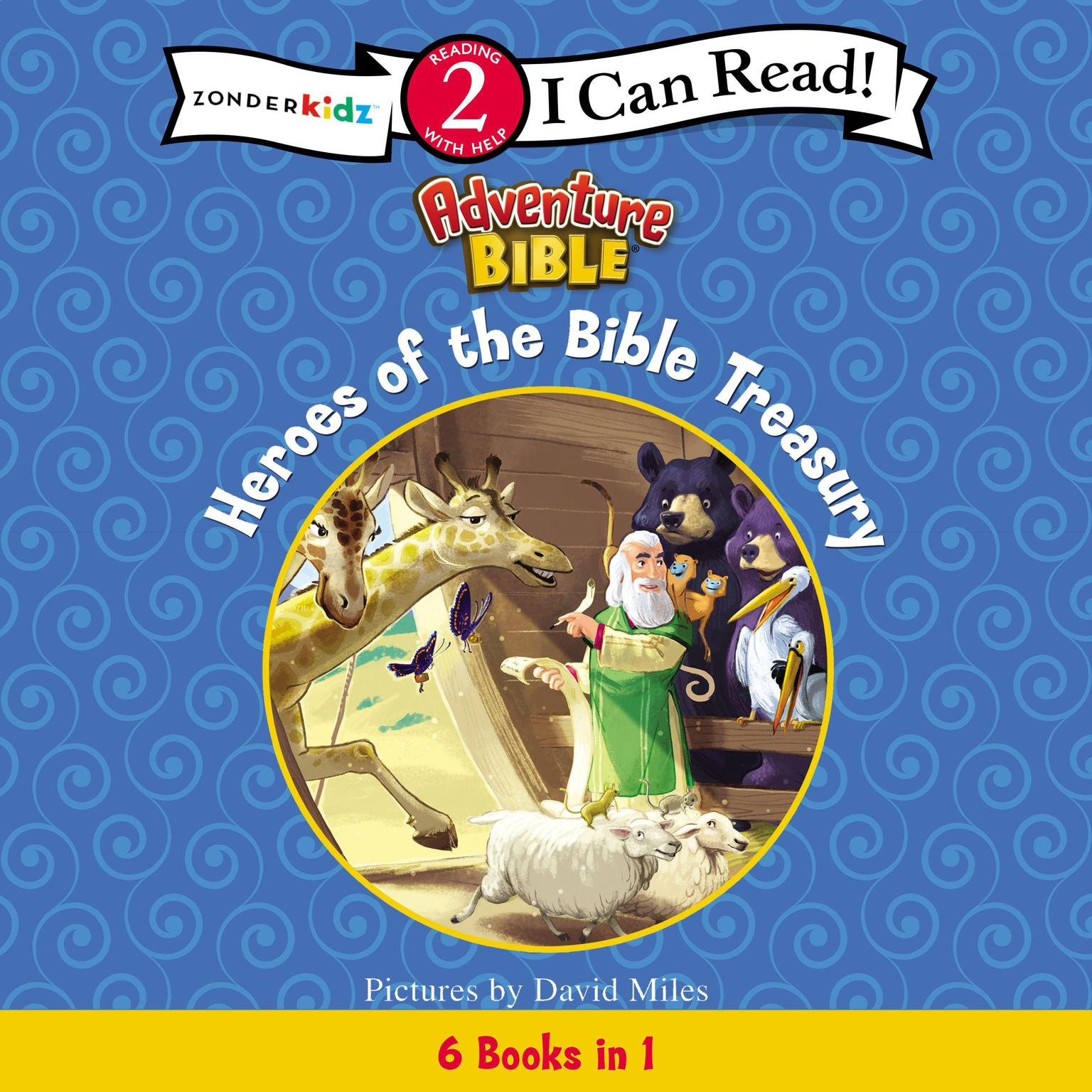 Printable Heroes of the Bible Treasury Audiobook Cover Art