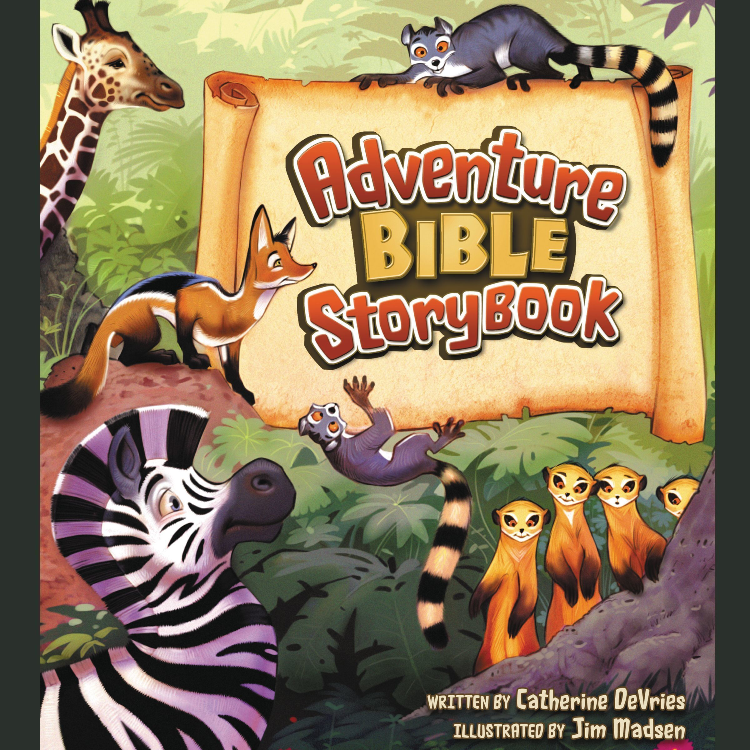 Printable Adventure Bible Storybook Audiobook Cover Art