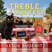 Treble at the Jam Fest Audiobook, by Leslie Budewitz