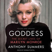 Goddess: The Secret Lives of Marilyn Monroe Audiobook, by Anthony Summers