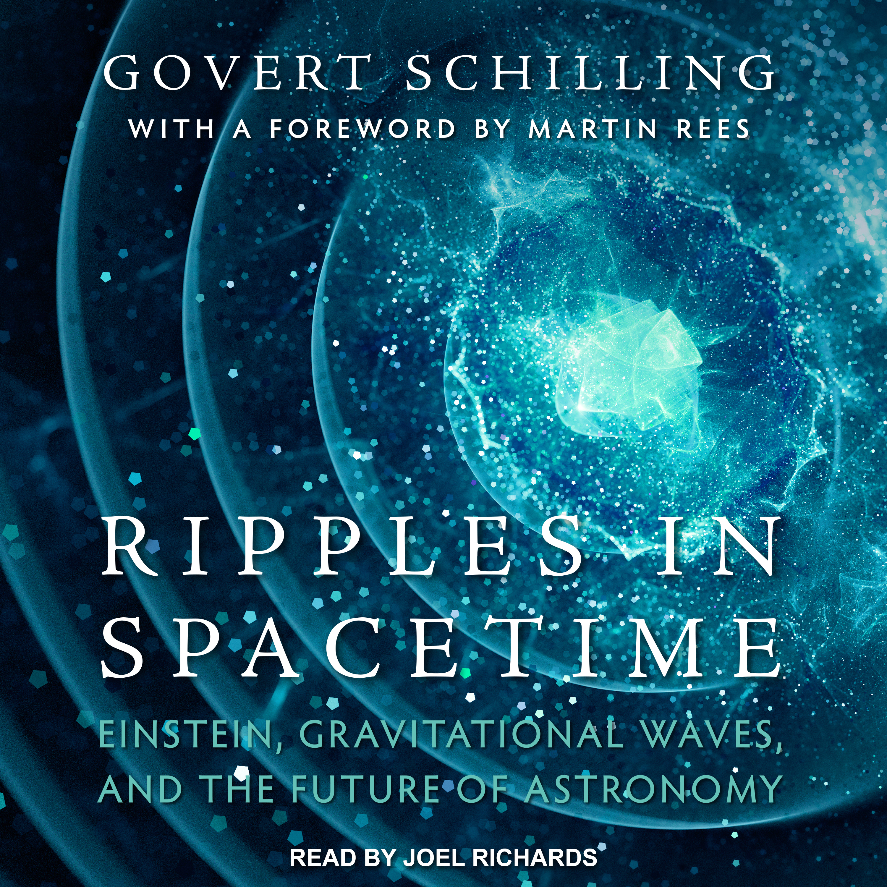 Printable Ripples in Spacetime: Einstein, Gravitational Waves, and the Future of Astronomy Audiobook Cover Art