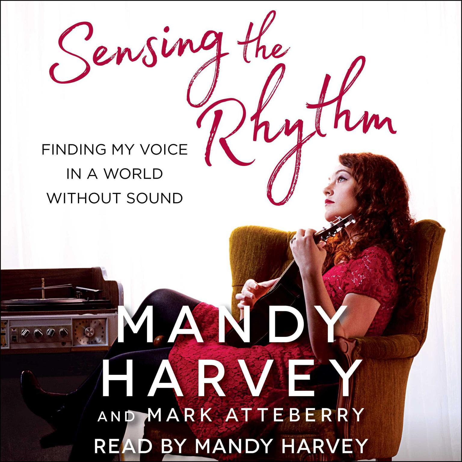 Printable Sensing the Rhythm: Finding My Voice in a World Without Sound Audiobook Cover Art