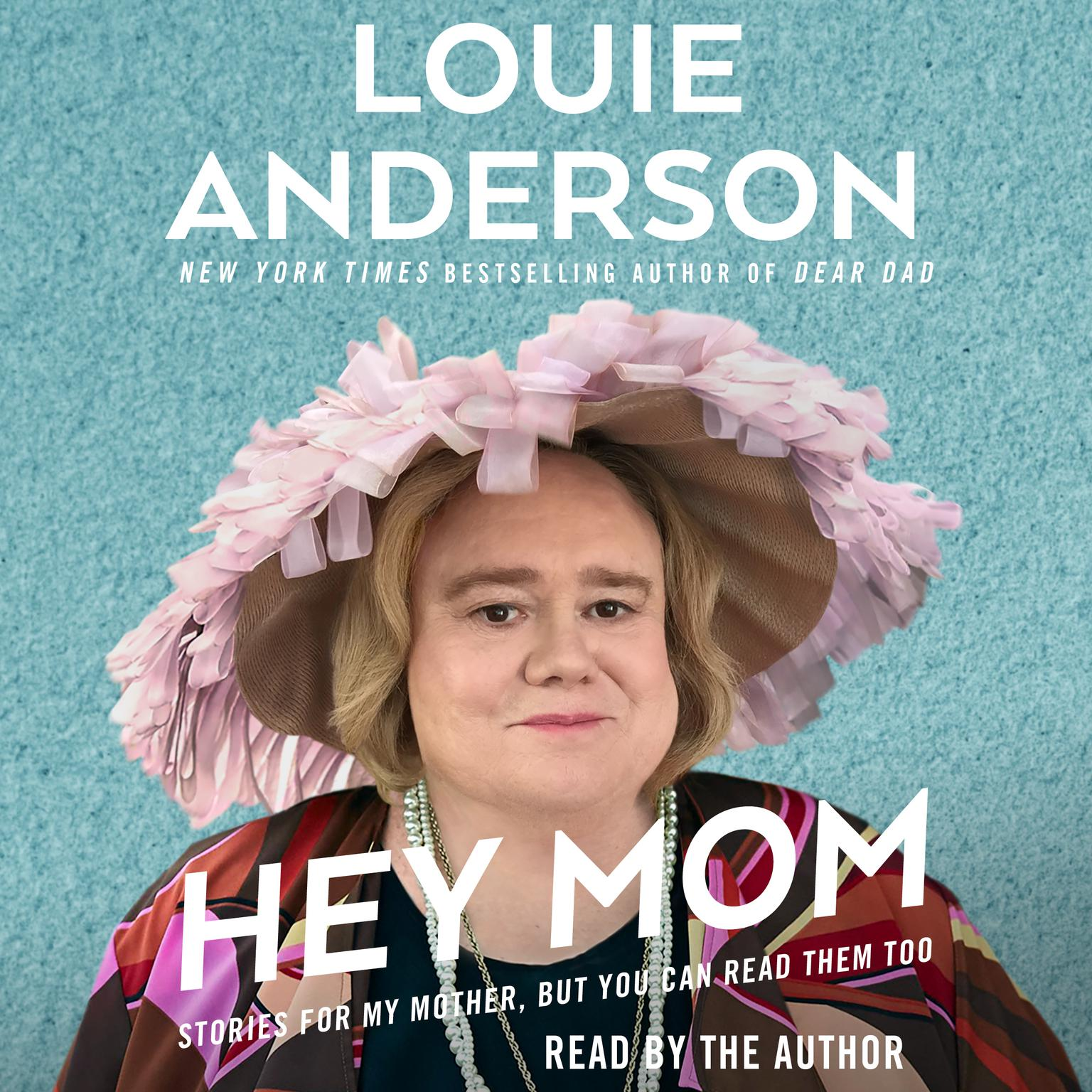 Printable Hey Mom Audiobook Cover Art