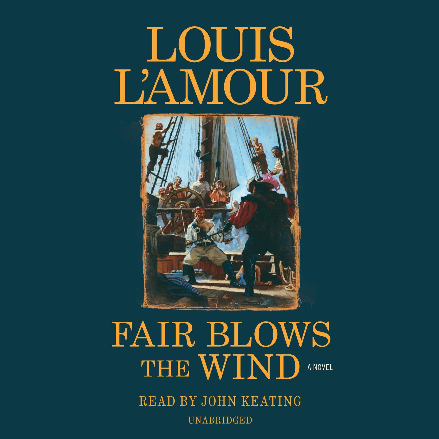 Printable Fair Blows the Wind: A Novel Audiobook Cover Art