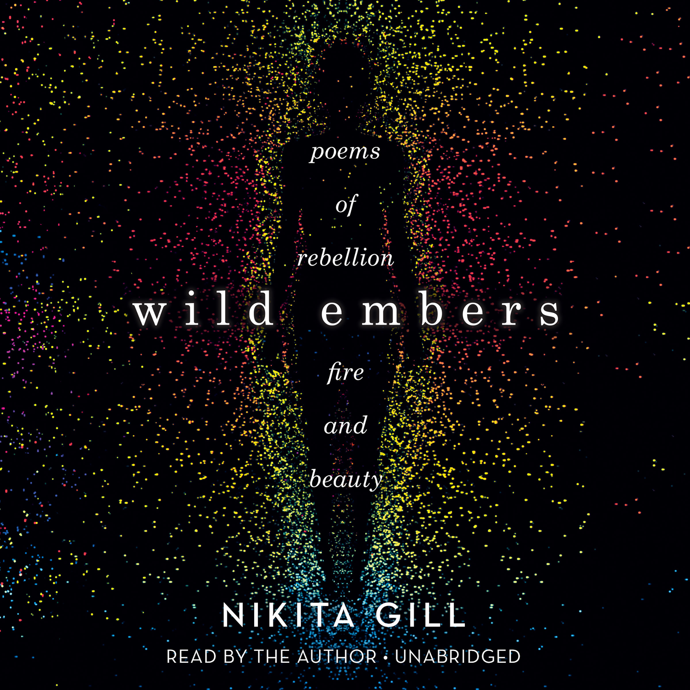 Printable Wild Embers: Poems of Rebellion, Fire, and Beauty Audiobook Cover Art