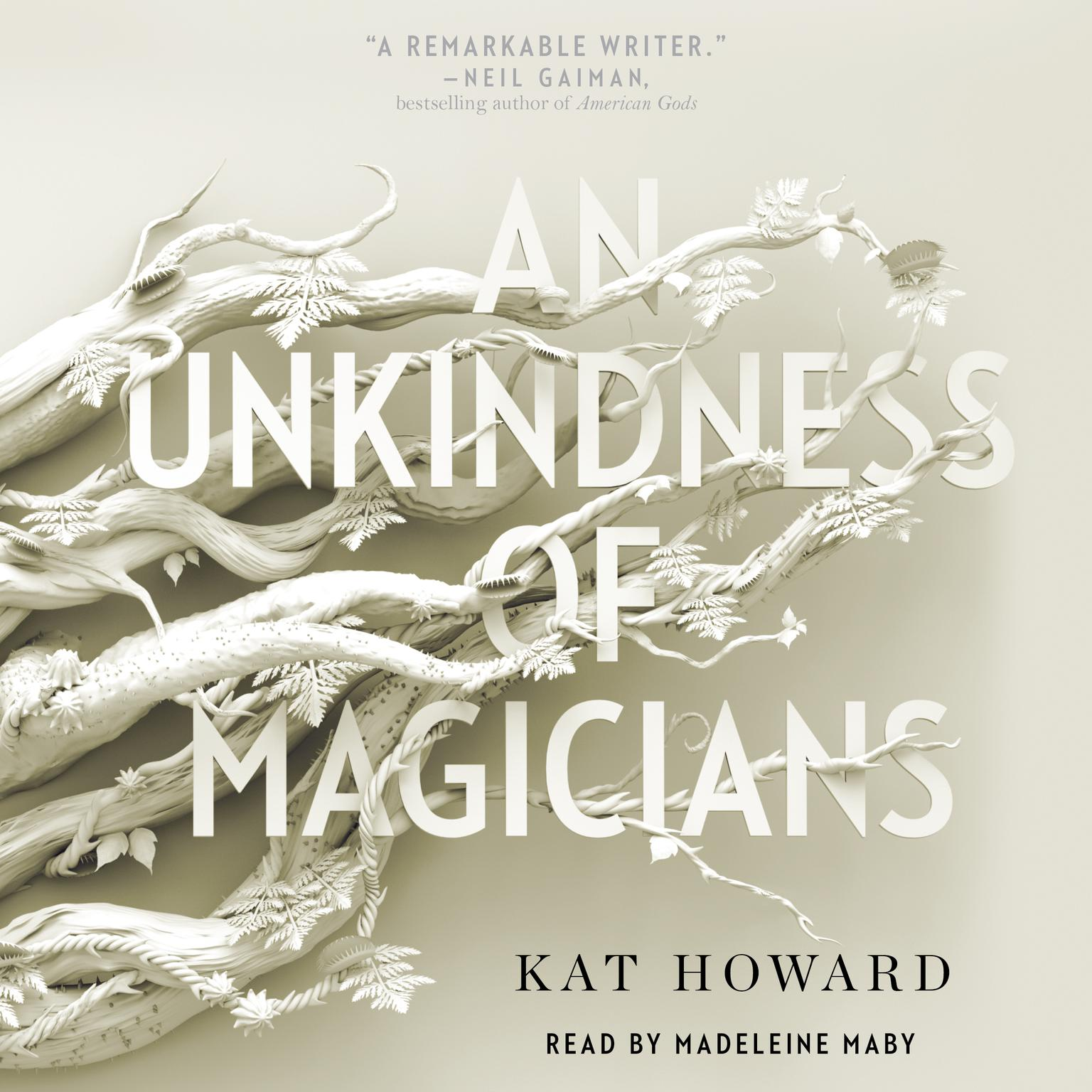 Printable An Unkindness of Magicians Audiobook Cover Art