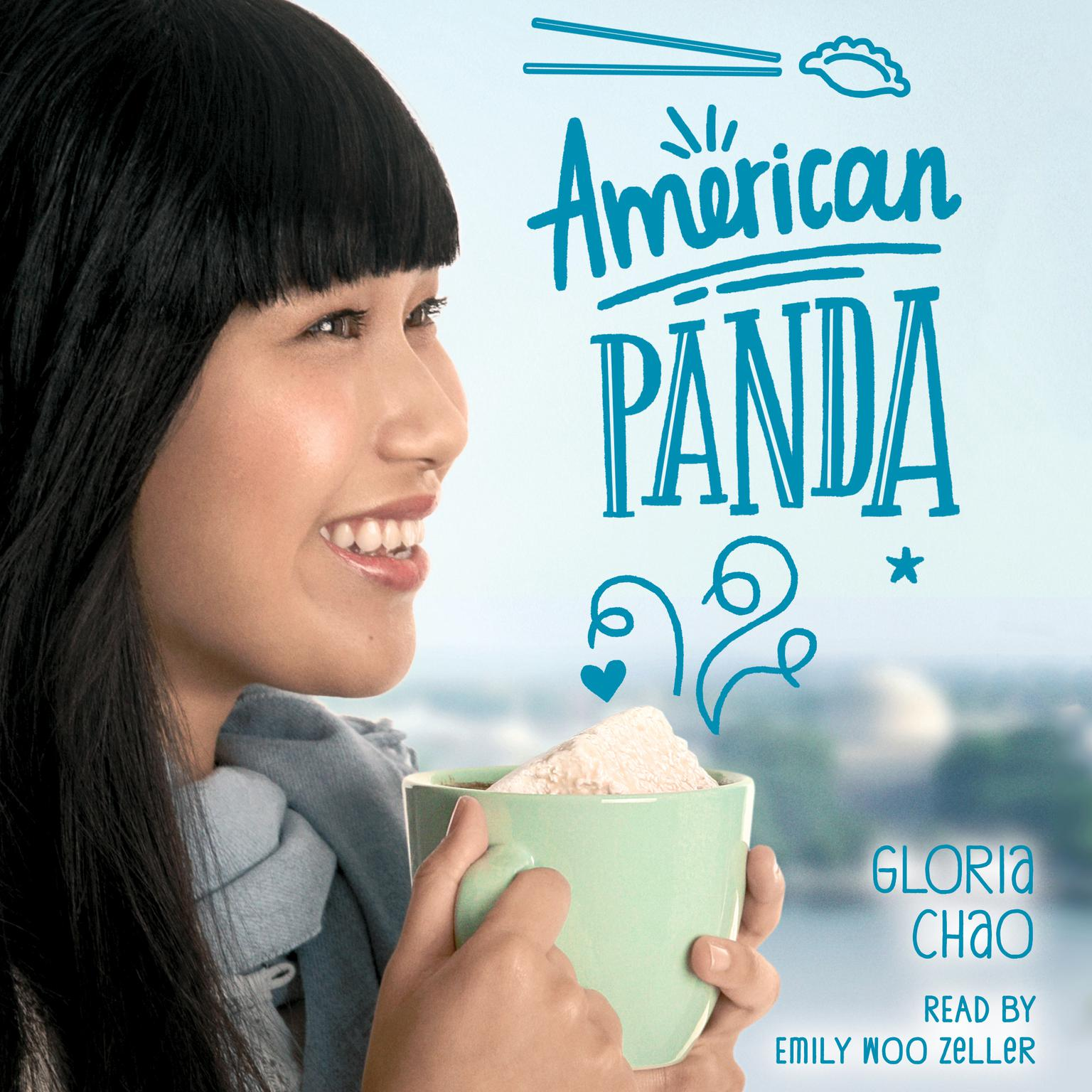 Printable American Panda Audiobook Cover Art