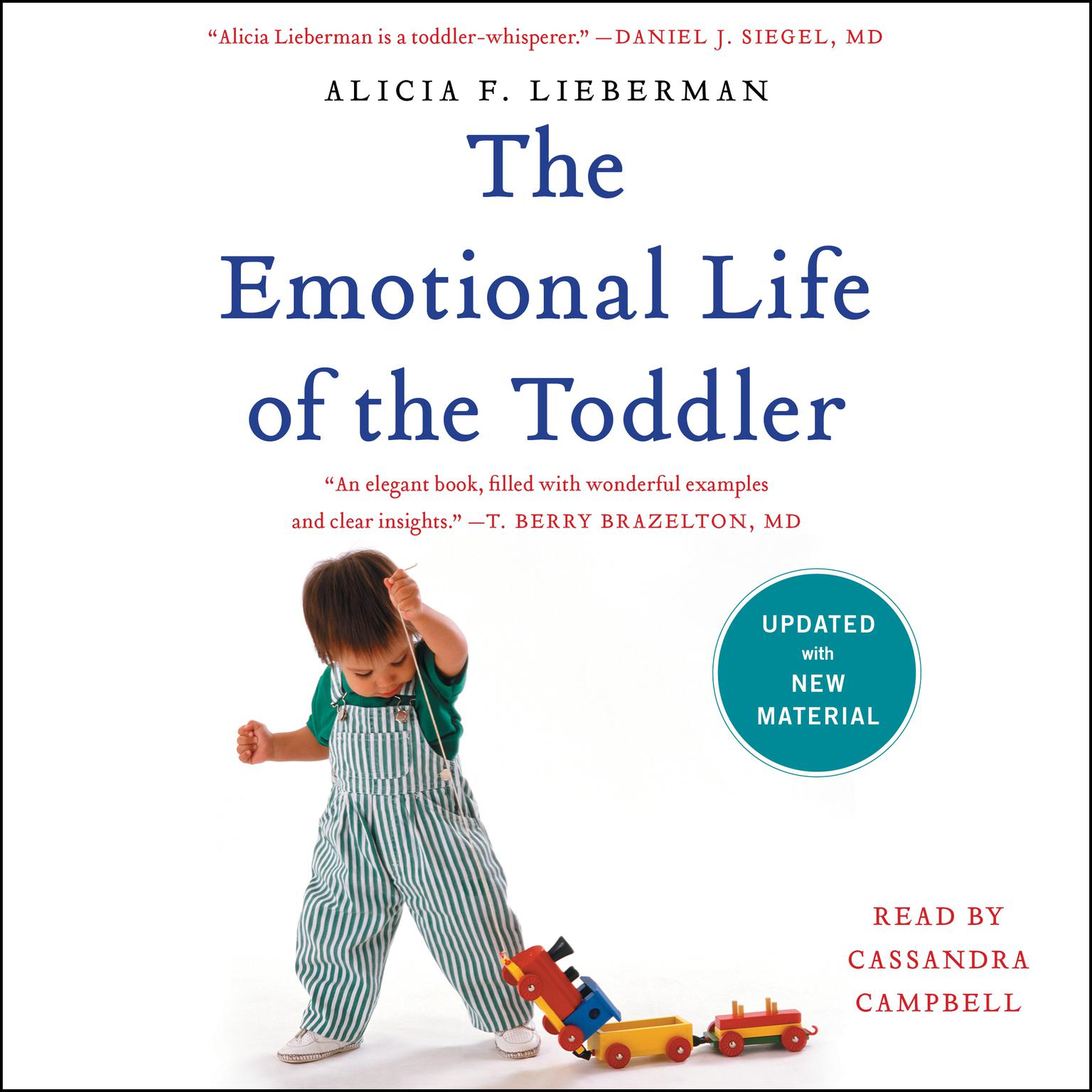 Printable The Emotional Life of the Toddler Audiobook Cover Art