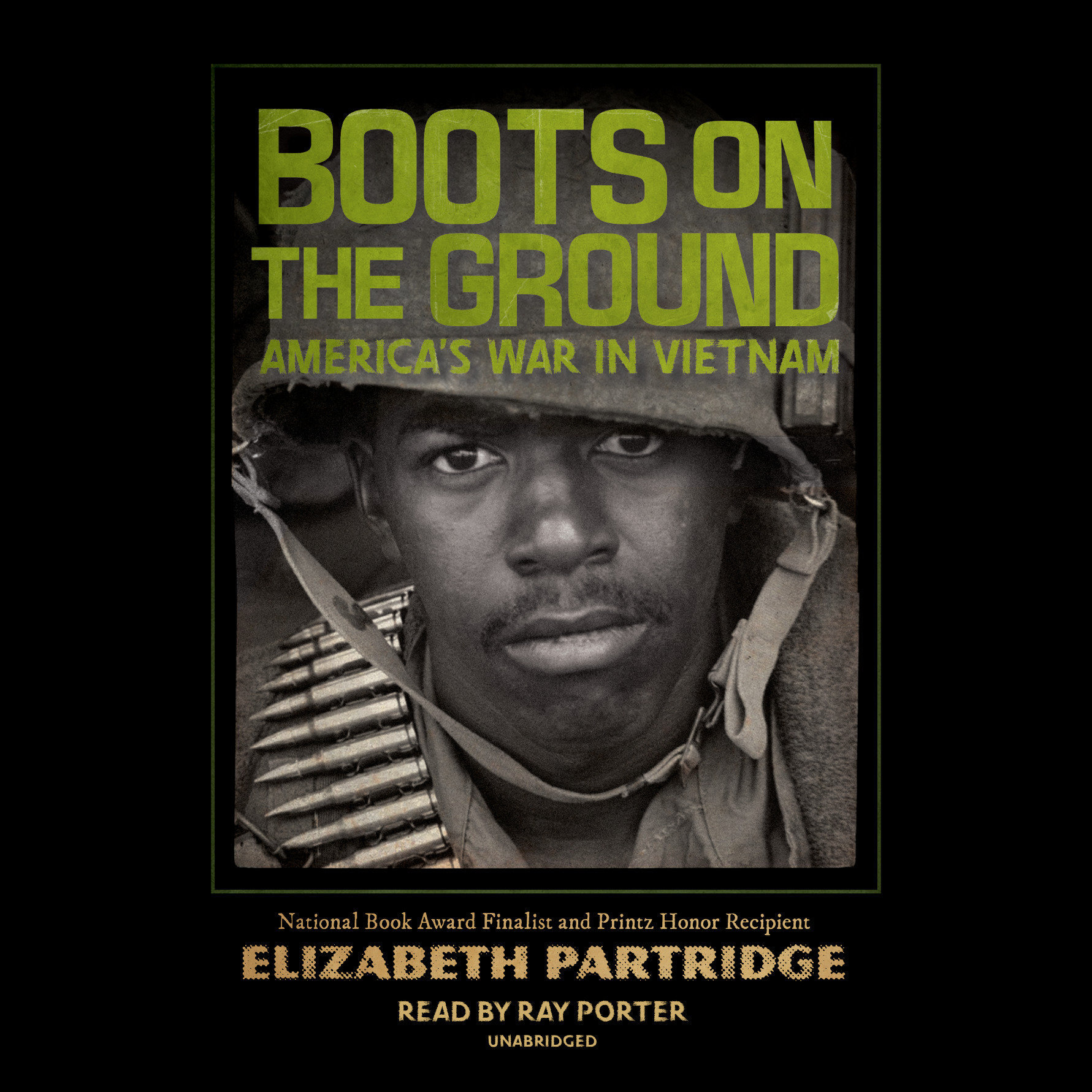 Printable Boots on the Ground: America's War in Vietnam Audiobook Cover Art