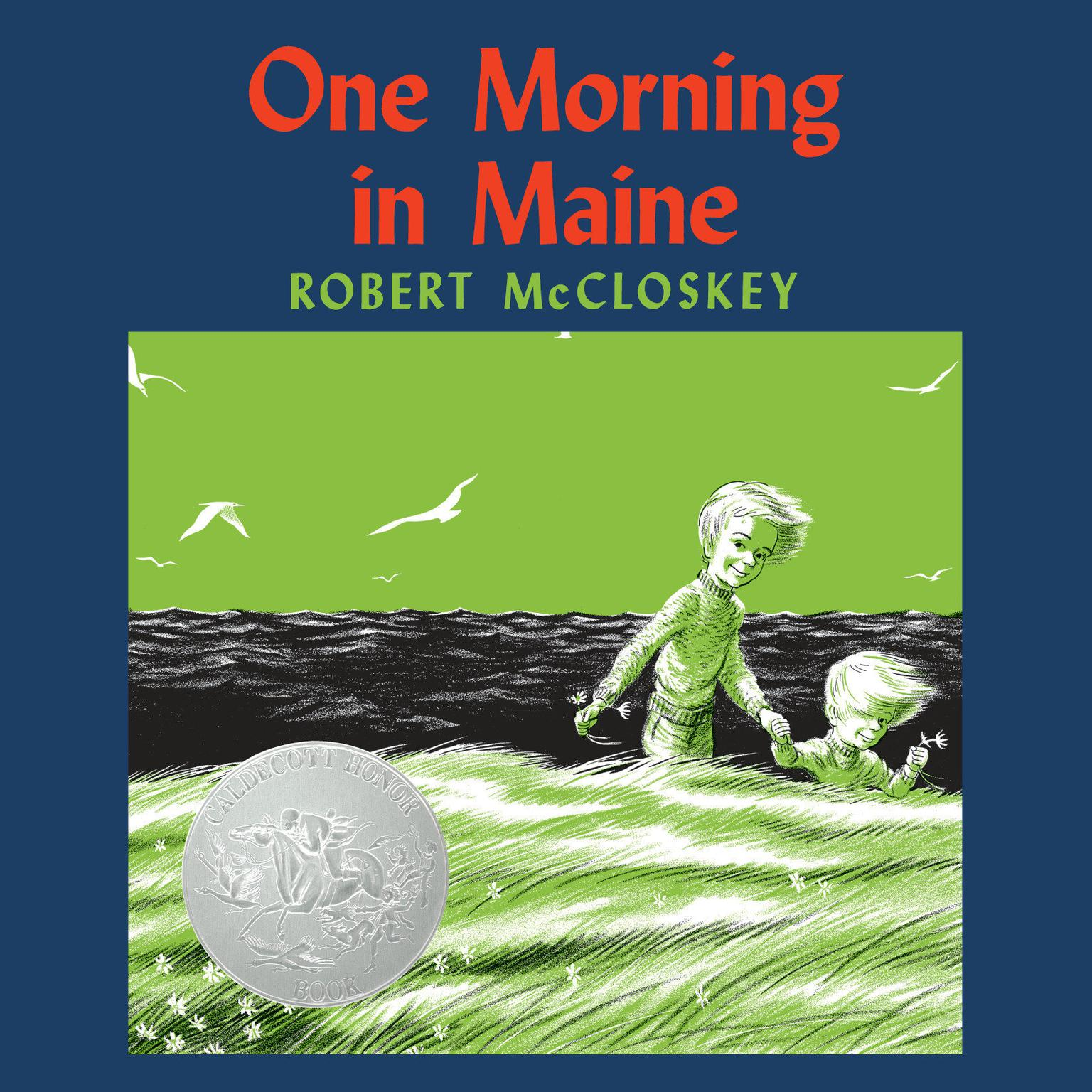 Printable One Morning in Maine Audiobook Cover Art
