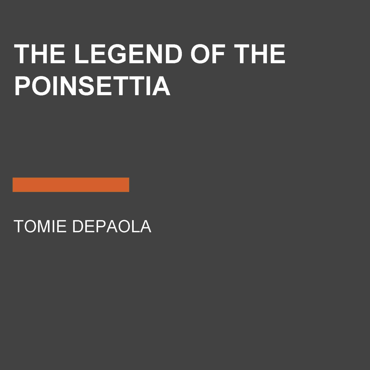 Printable The Legend of the Poinsettia Audiobook Cover Art