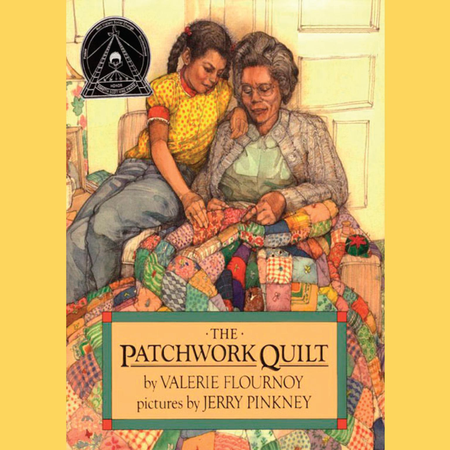 Printable The Patchwork Quilt Audiobook Cover Art