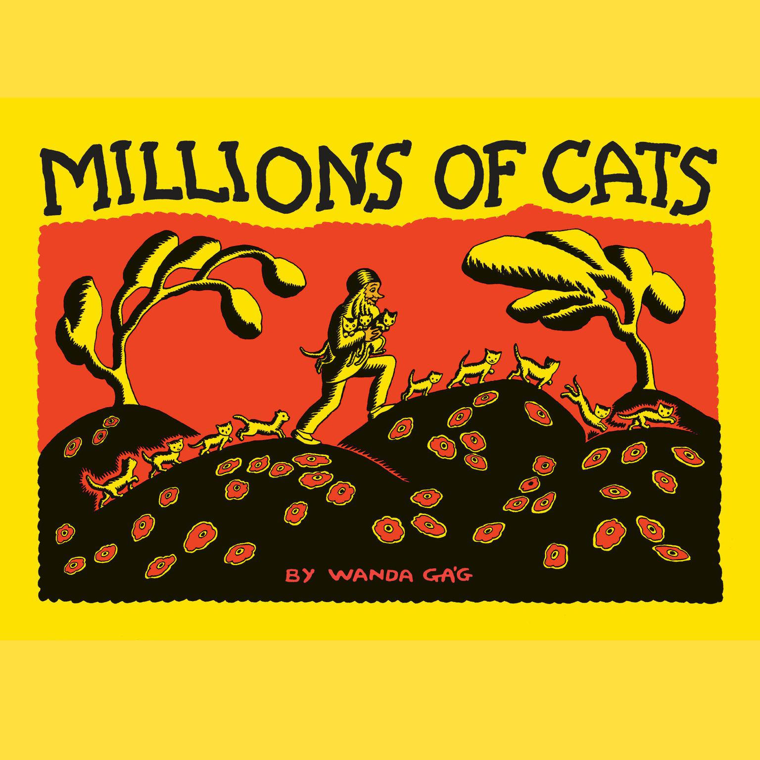 Printable Millions of Cats Audiobook Cover Art