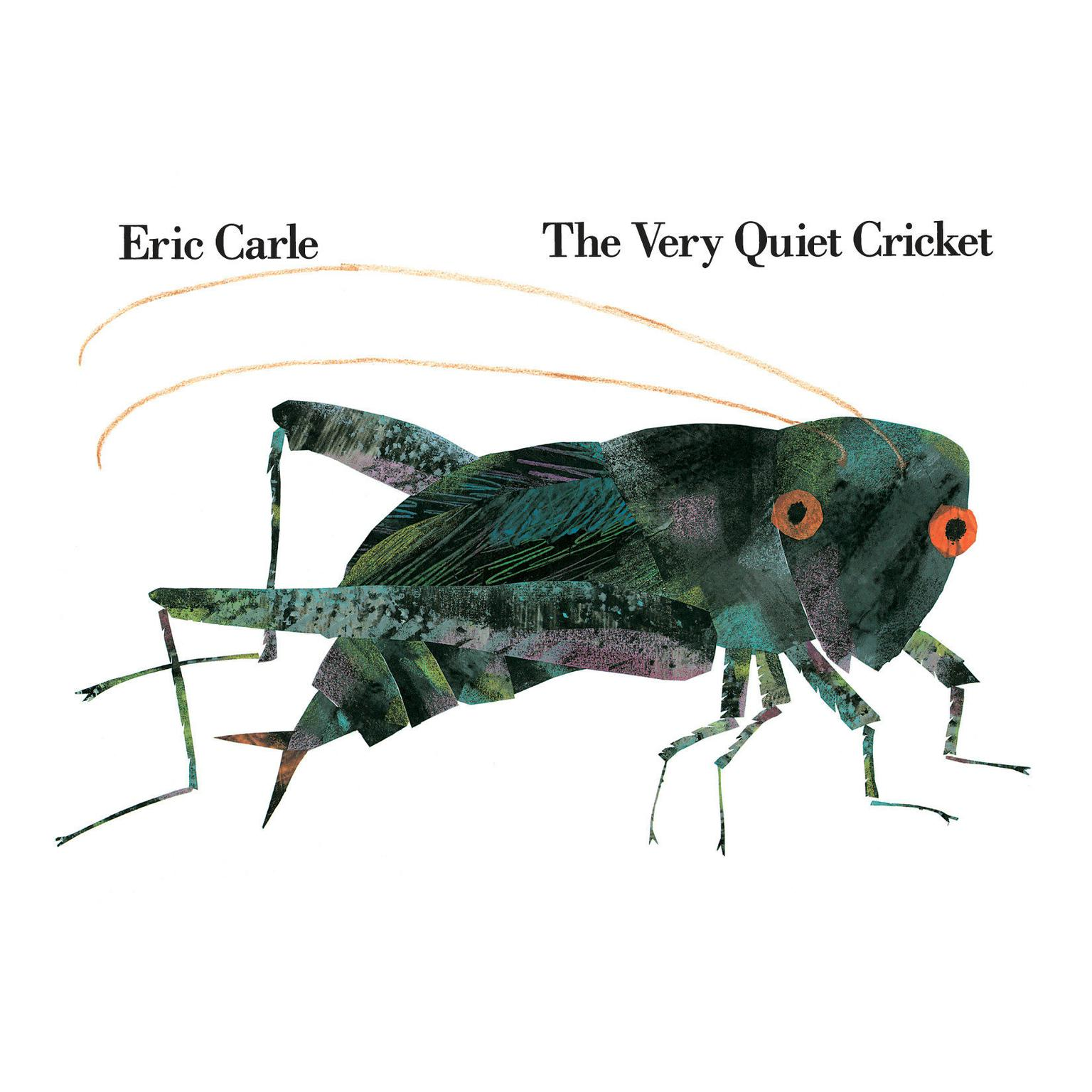 Printable The Very Quiet Cricket Audiobook Cover Art
