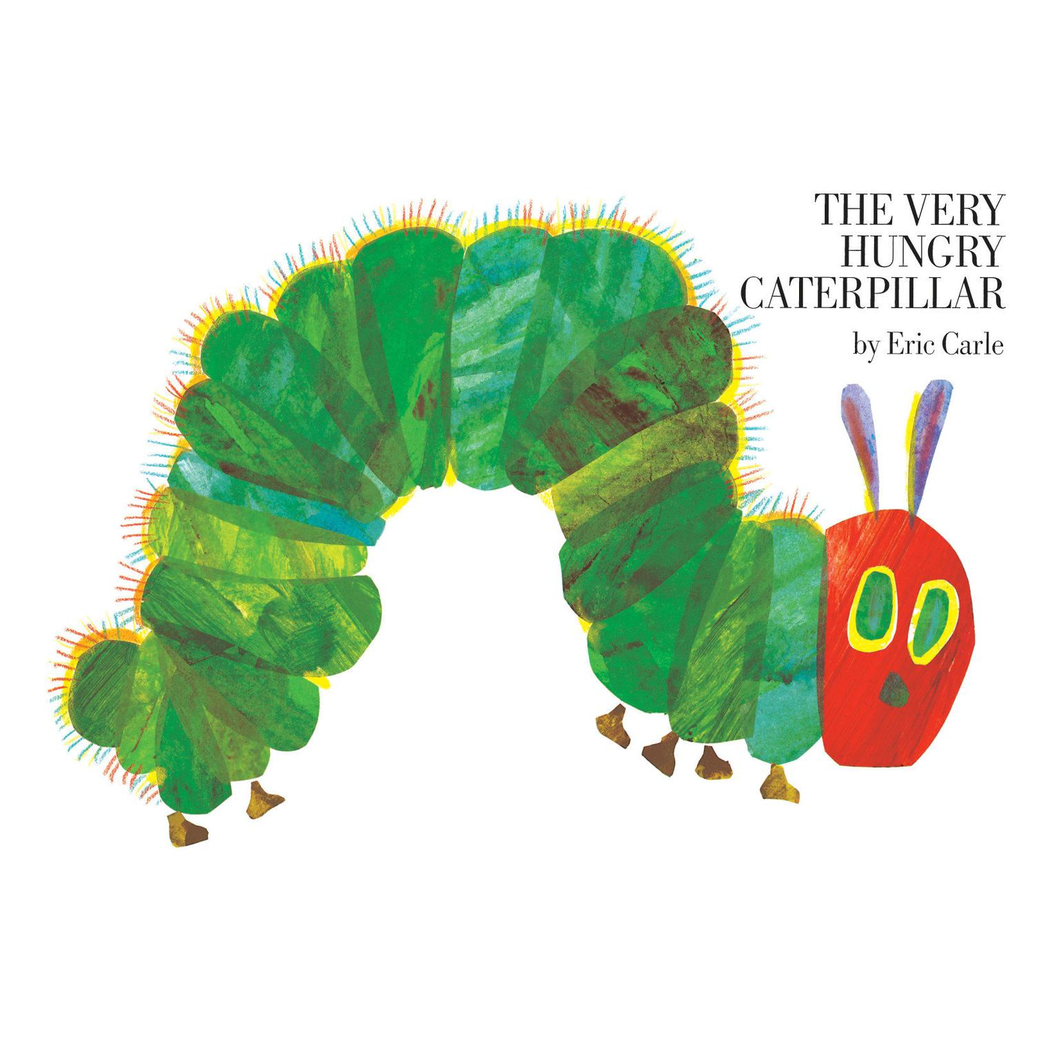 Printable The Very Hungry Caterpillar Audiobook Cover Art