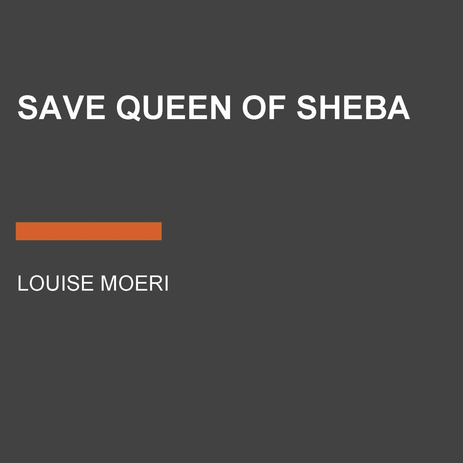 Printable Save Queen of Sheba Audiobook Cover Art