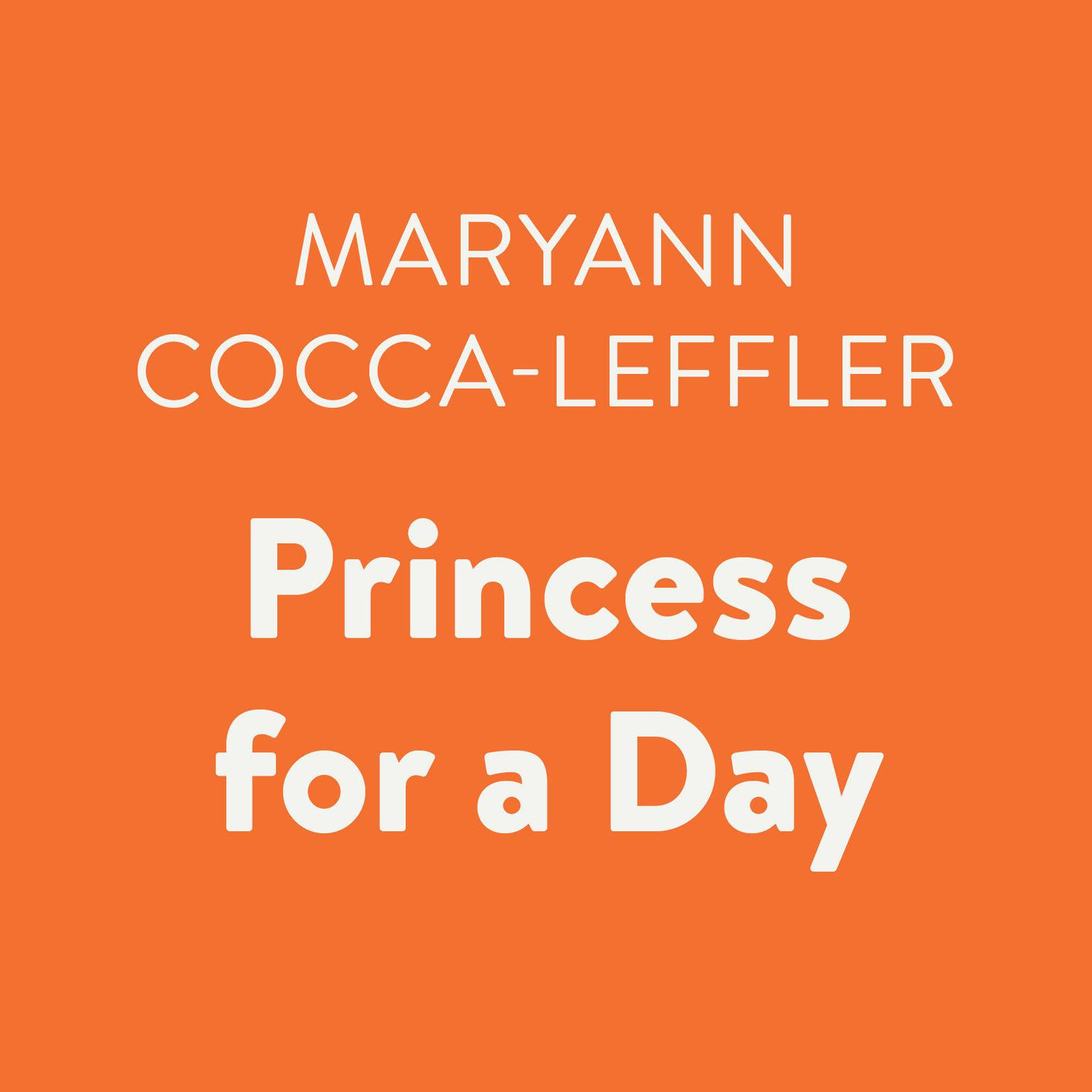 Printable Princess for a Day Audiobook Cover Art