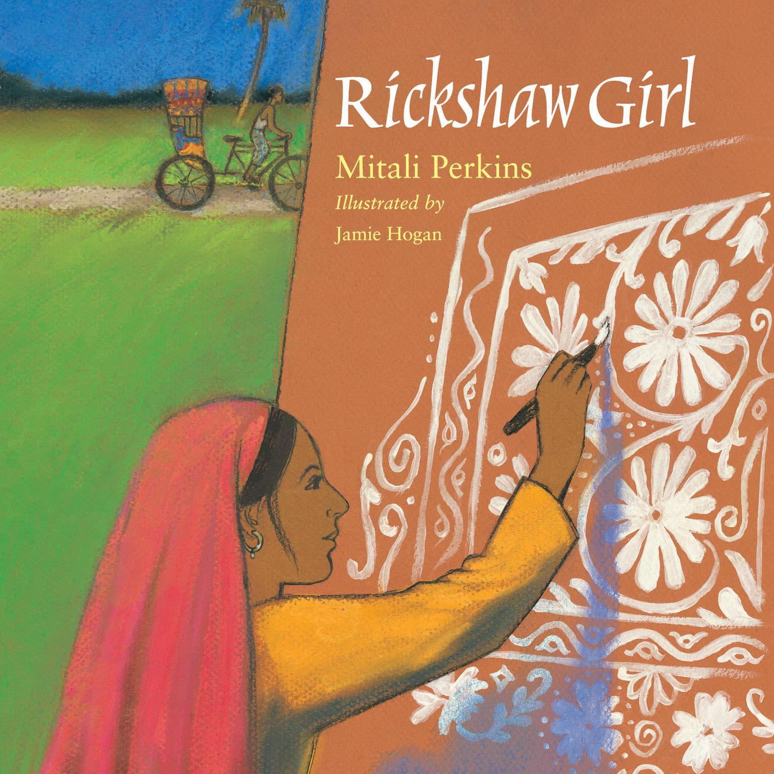 Printable Rickshaw Girl Audiobook Cover Art