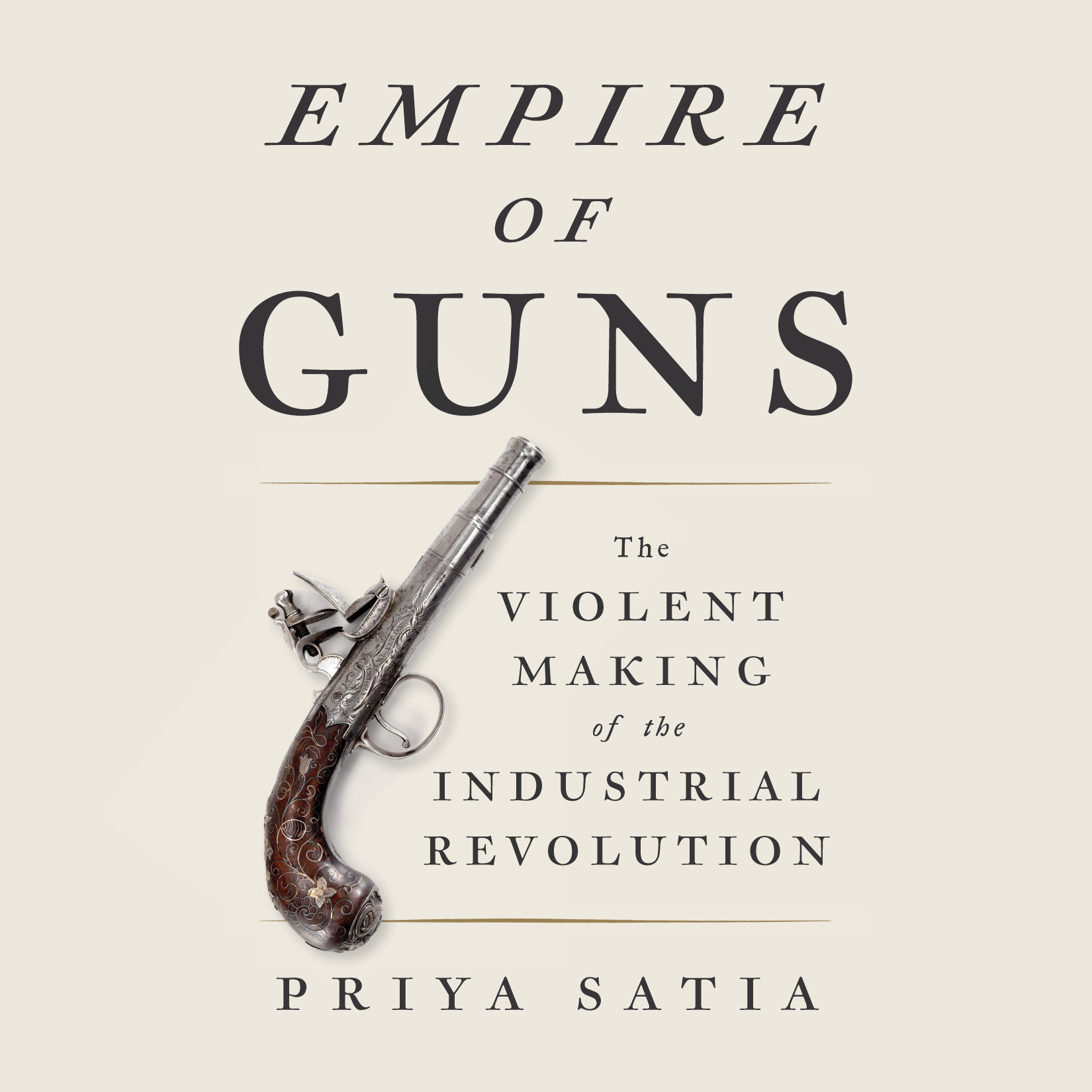 Printable Empire of Guns: The Violent Making of the Industrial Revolution Audiobook Cover Art