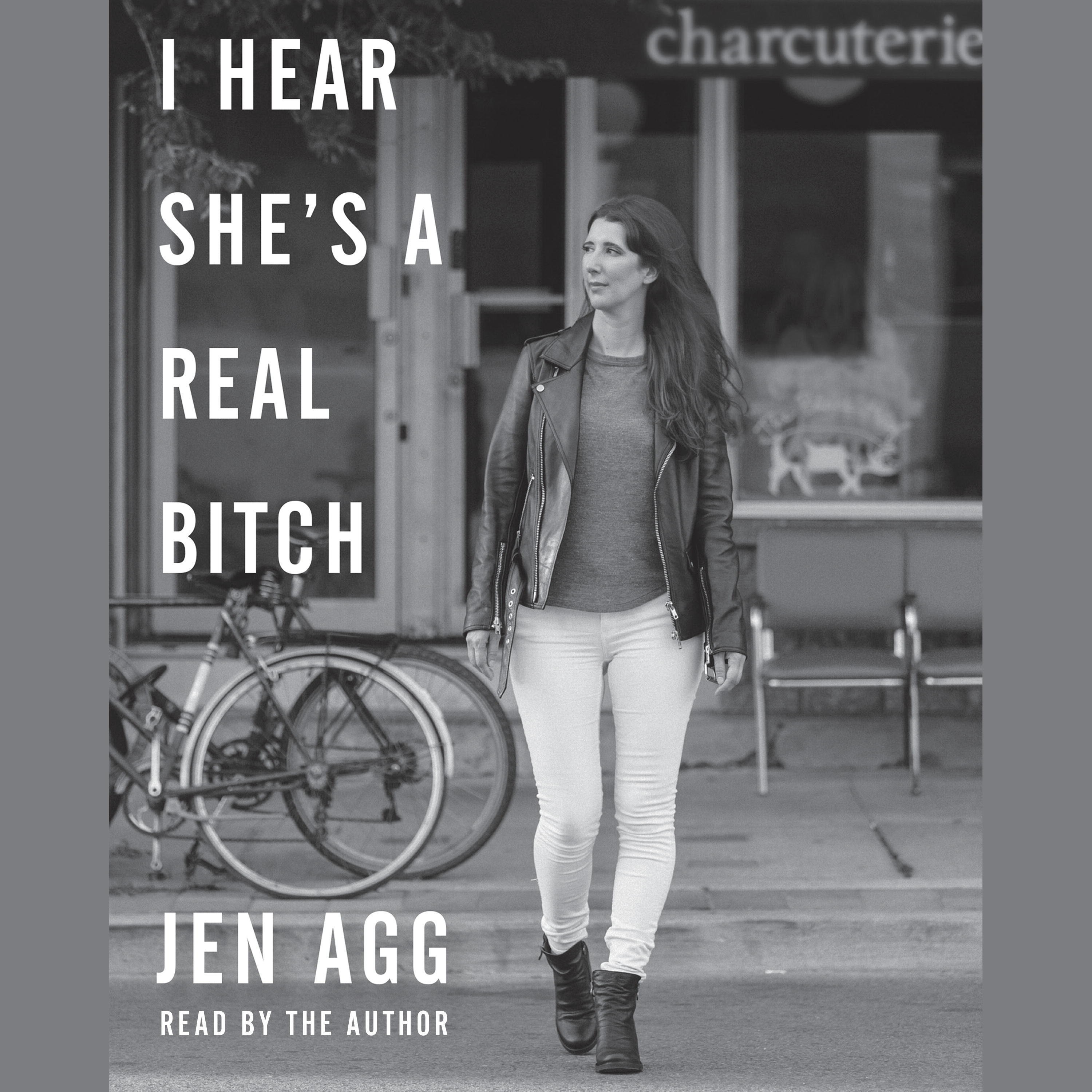 Printable I Hear She's a Real Bitch Audiobook Cover Art