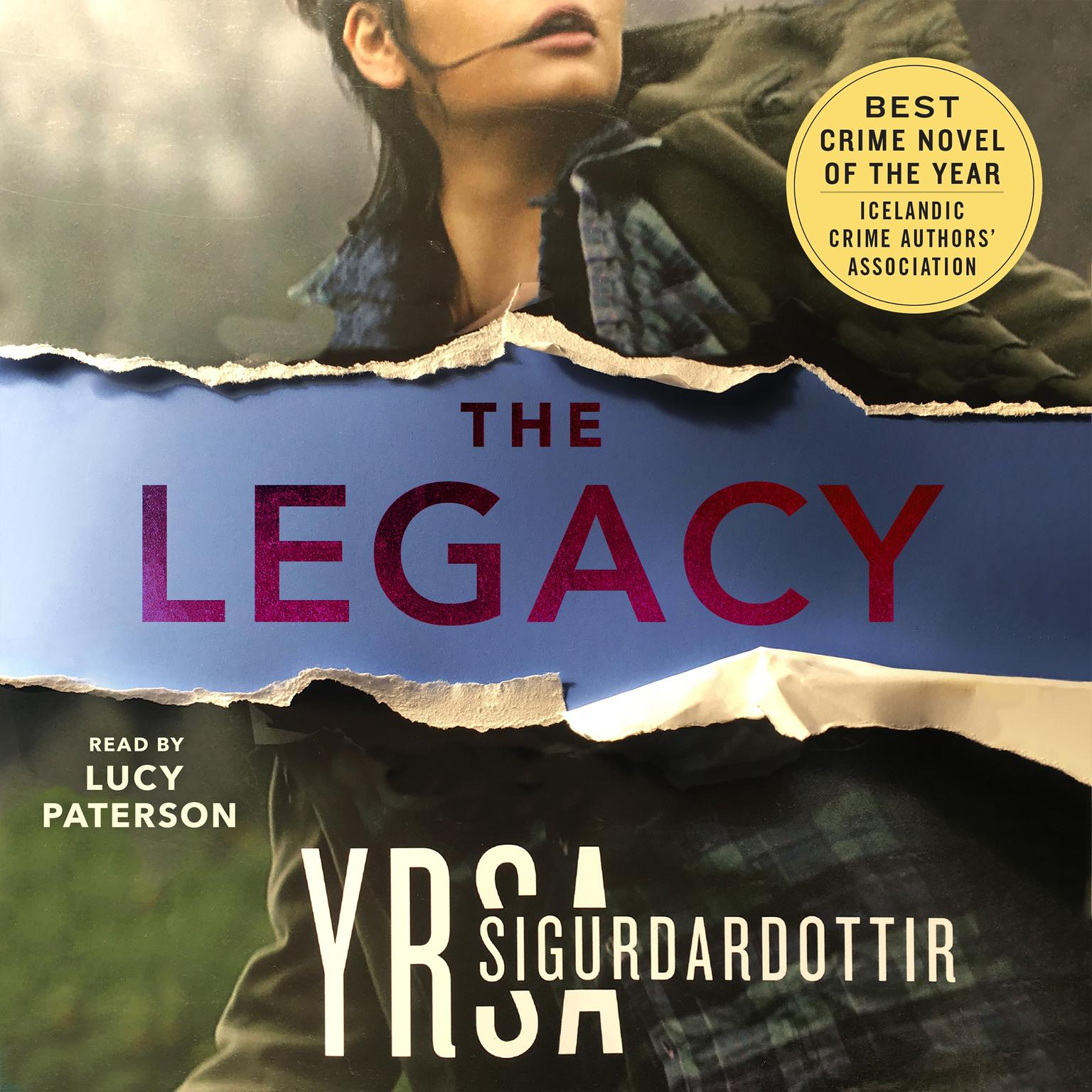 Printable The Legacy: A Thriller Audiobook Cover Art