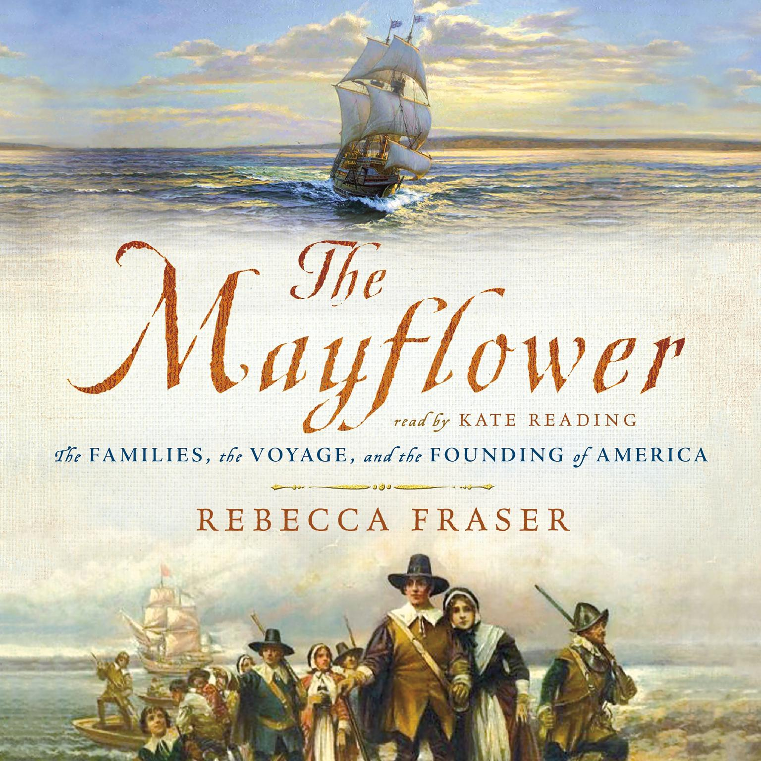 Printable The Mayflower: The Families, the Voyage, and the Founding of America Audiobook Cover Art