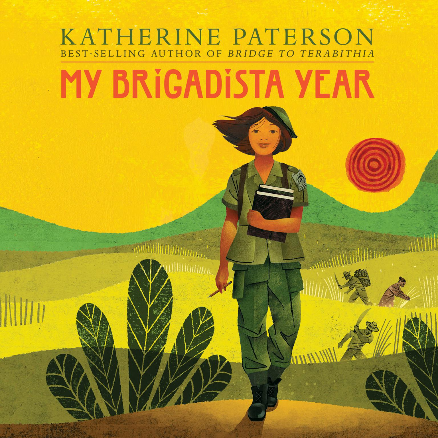 Printable My Brigadista Year Audiobook Cover Art
