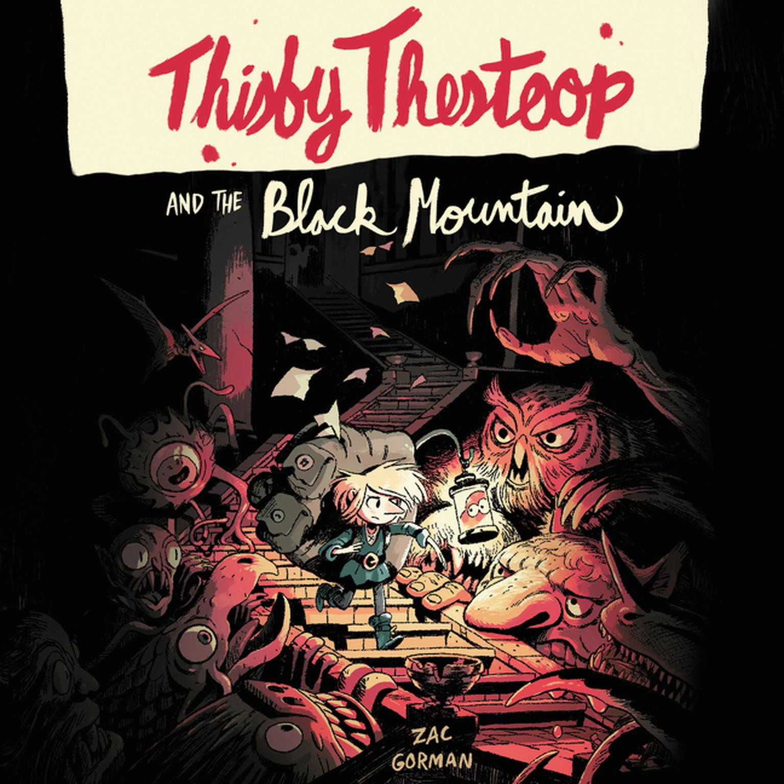 Printable Thisby Thestoop and the Black Mountain Audiobook Cover Art
