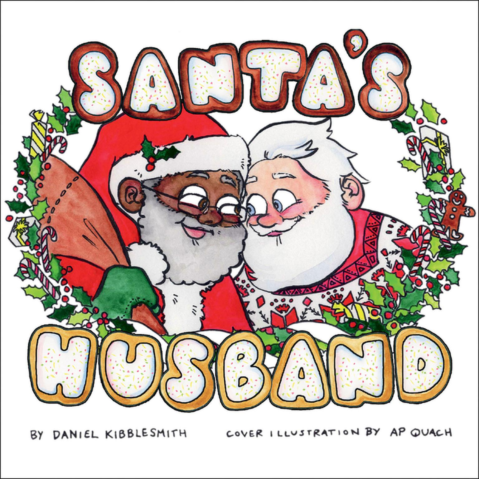 Printable Santa's Husband Audiobook Cover Art
