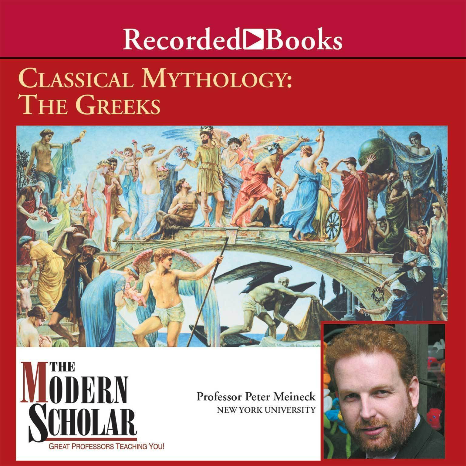 Printable Classical Mythology: The Greeks Audiobook Cover Art