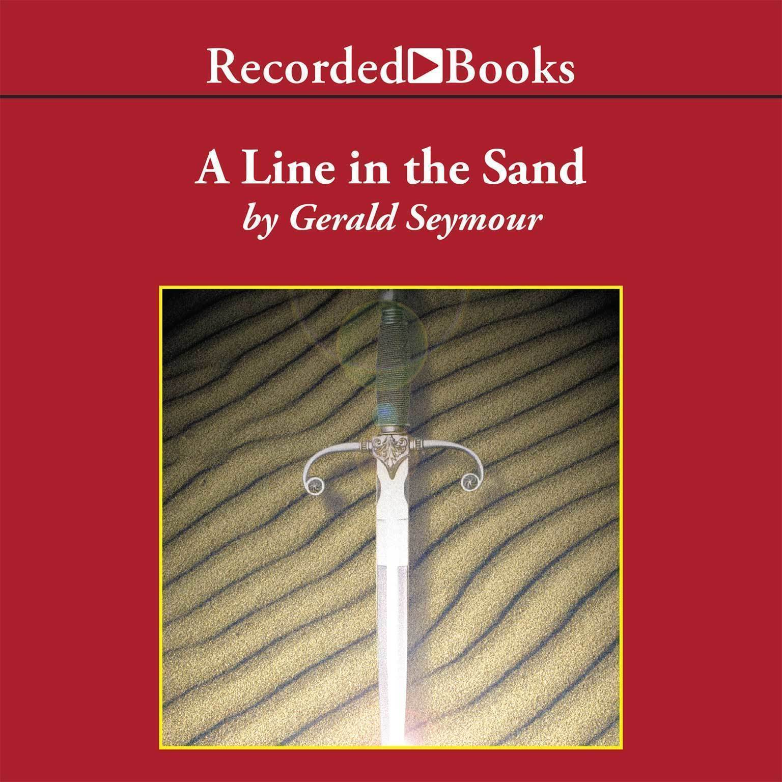 Printable A Line in the Sand Audiobook Cover Art
