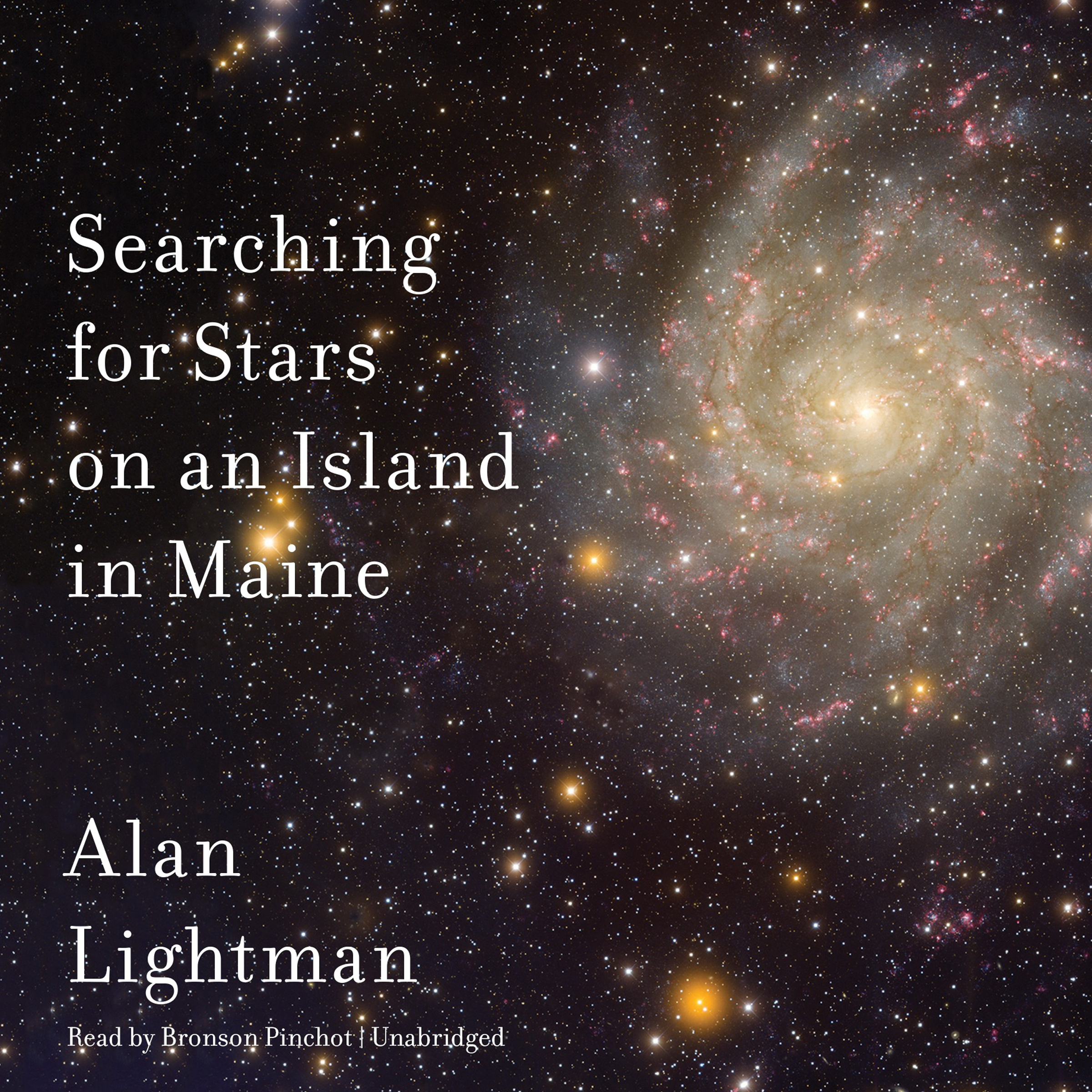 Printable Searching for Stars on an Island in Maine Audiobook Cover Art