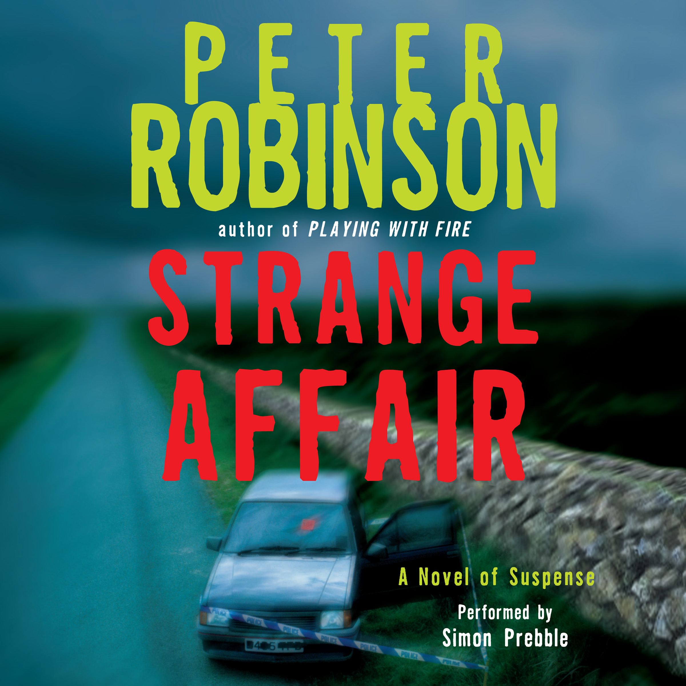 Printable Strange Affair Audiobook Cover Art