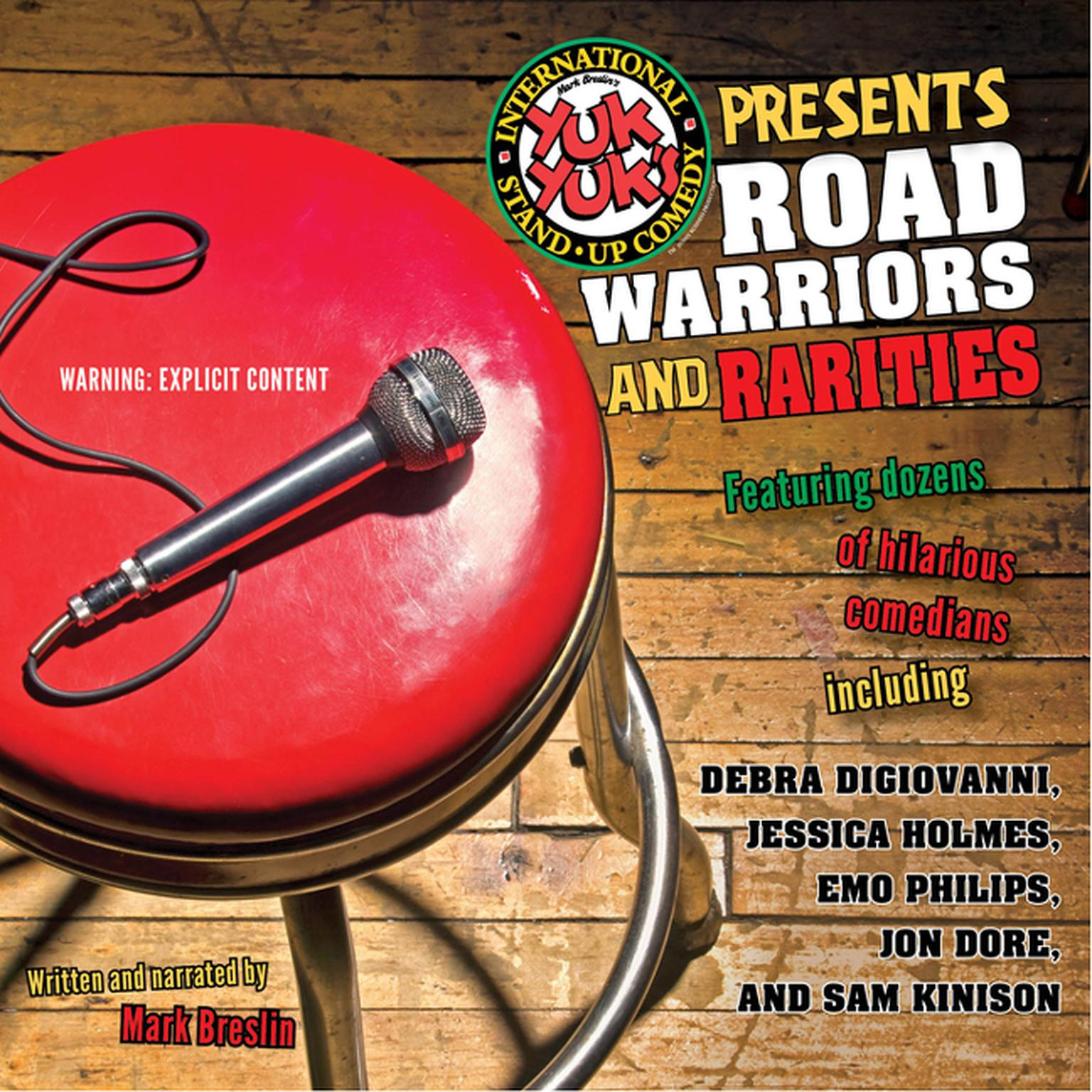 Printable Yuk Yuk's Presents Road Warriors And Rarities Audiobook Cover Art