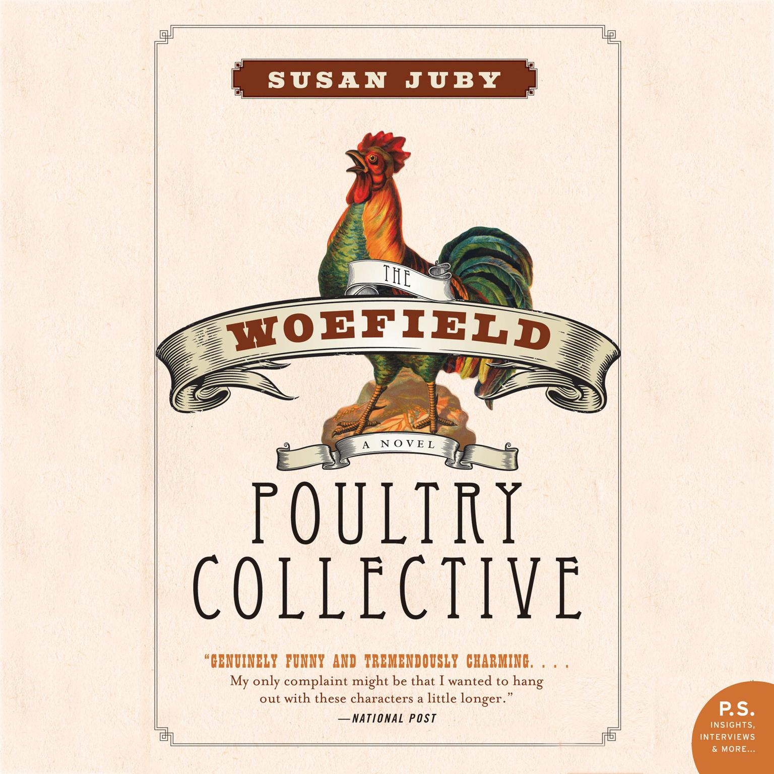 Printable Woefield Poultry Collective Audiobook Cover Art