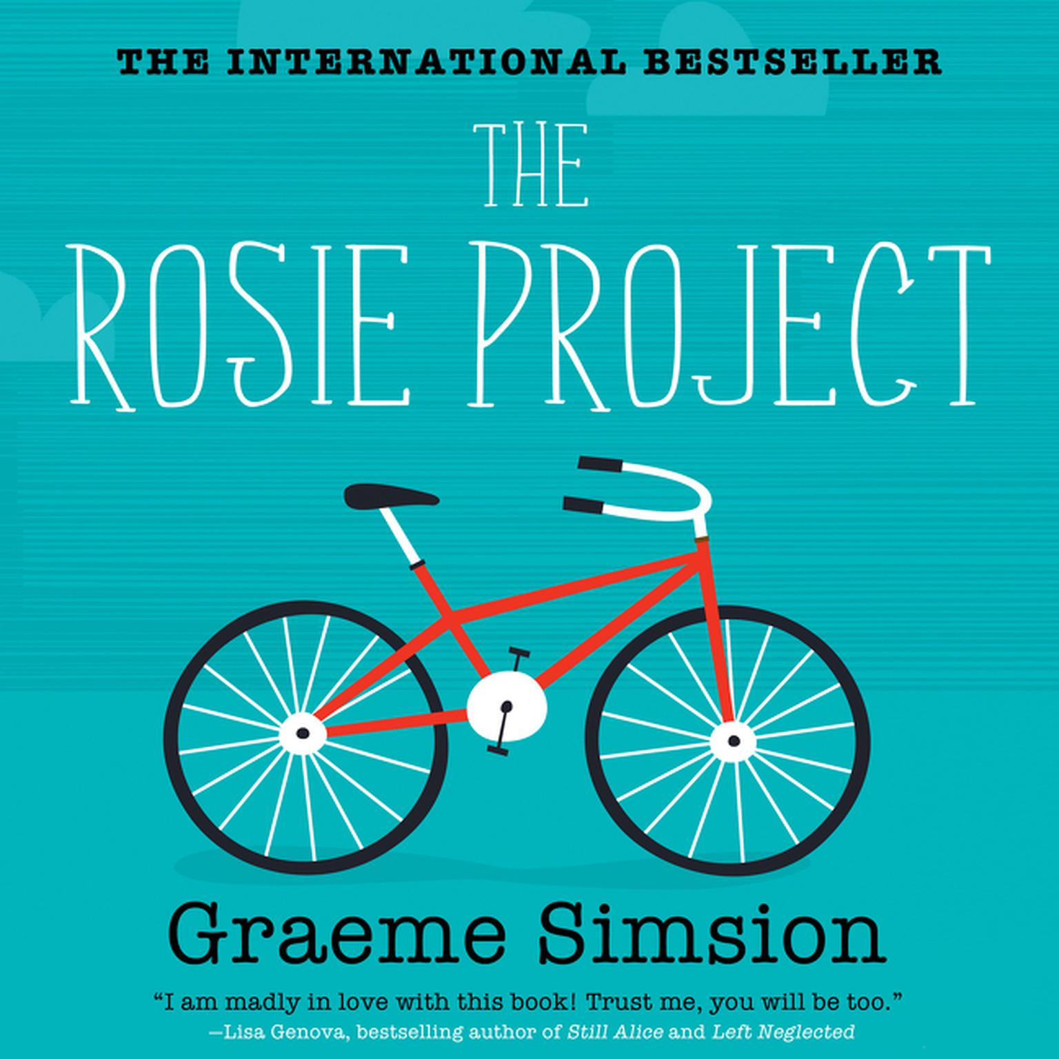 Printable The Rosie Project Audiobook Cover Art