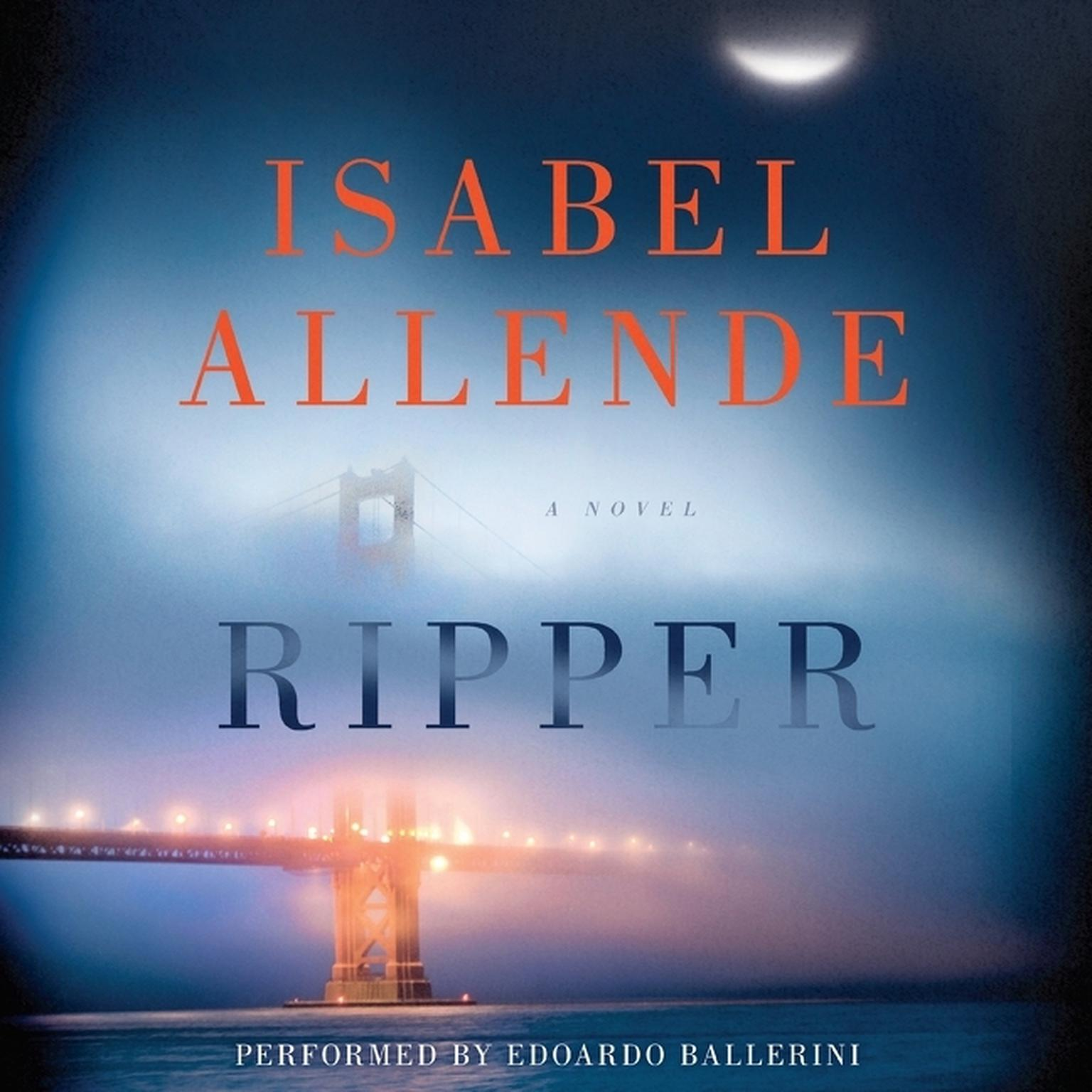 Printable Ripper: A Novel Audiobook Cover Art