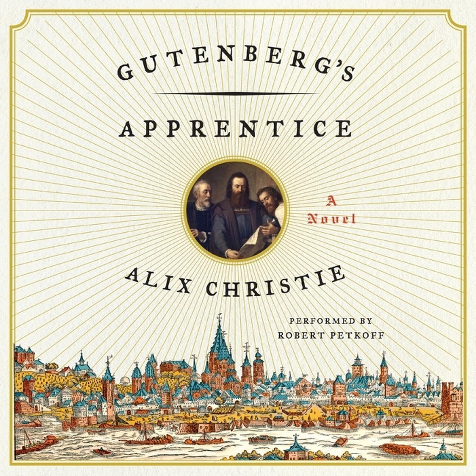 Printable Gutenberg's Apprentice: A Novel Audiobook Cover Art